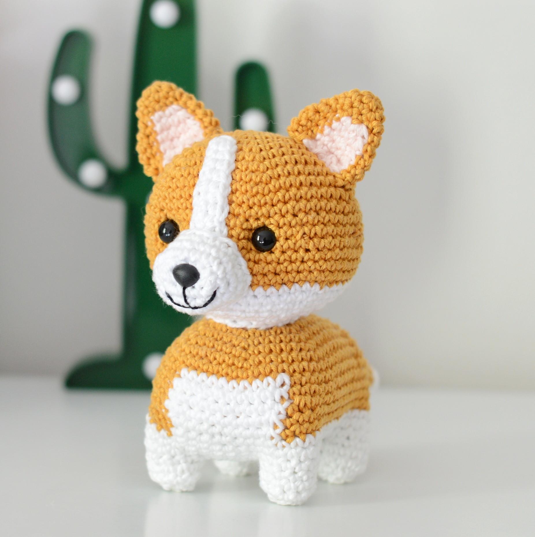 Corgi Big Booty Handmade Crochet Doll, Design & Craft, Handmade ... | 1858x1852