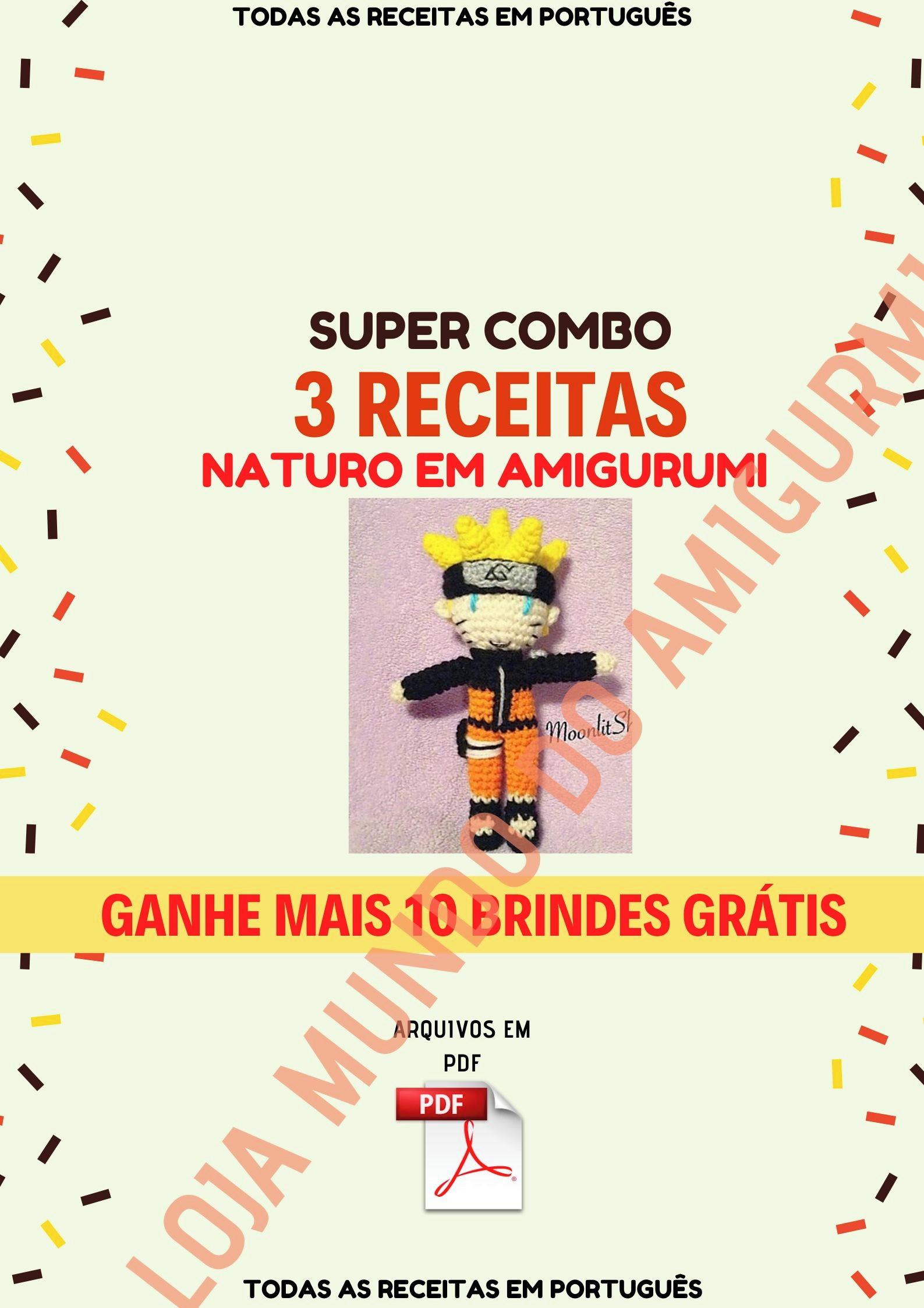 Mega Combo 16 Receitas Amigurumi Pokemóns Em Português no Elo7 ...   2245x1587
