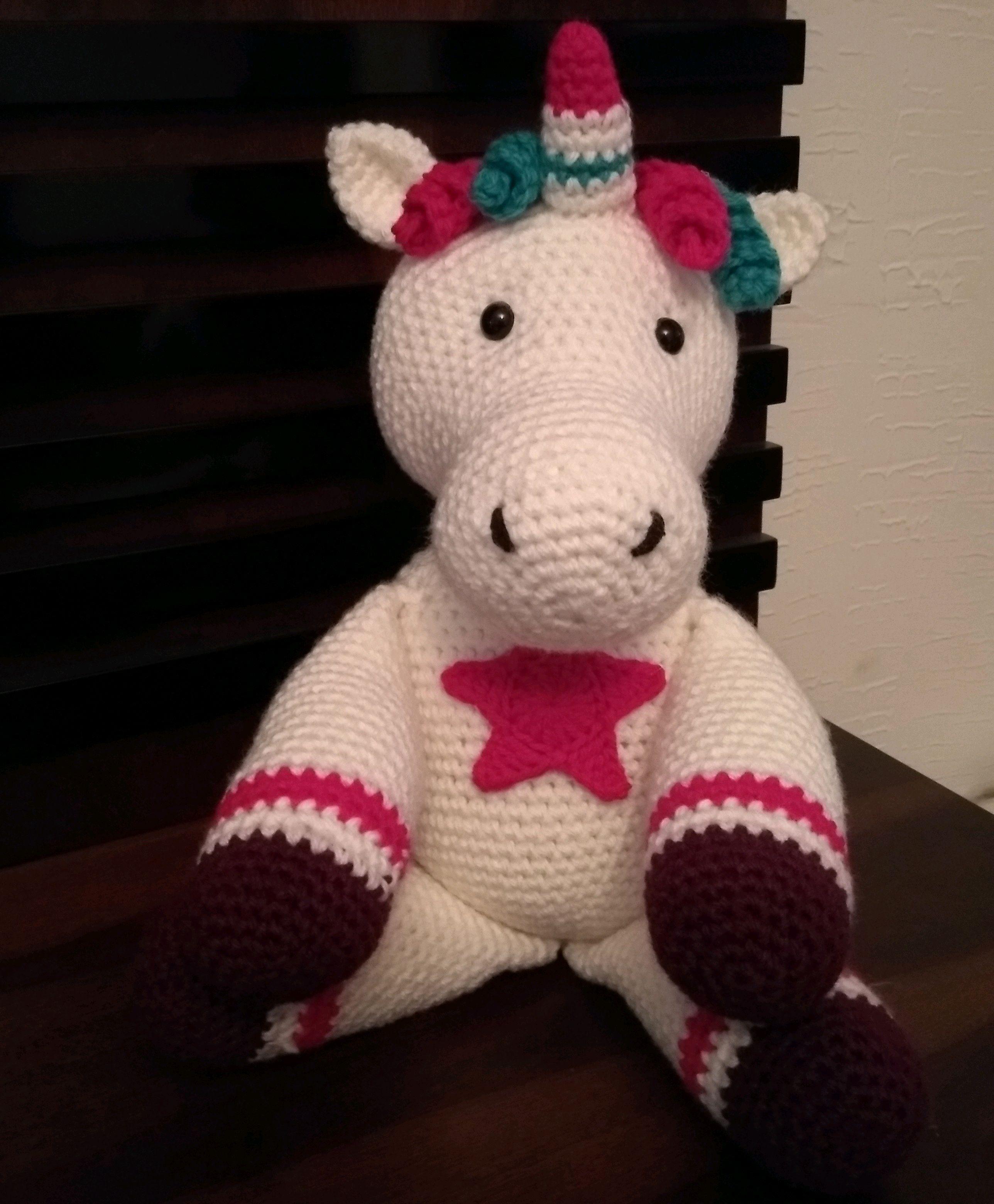 Dulce unicornio de crochet para los más pequeños de la casa ... | 3120x2576