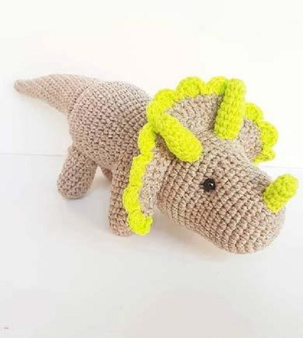 RECEITA dinossauro Triceratops no Elo7   Emyrumi (11145EB)   669x600