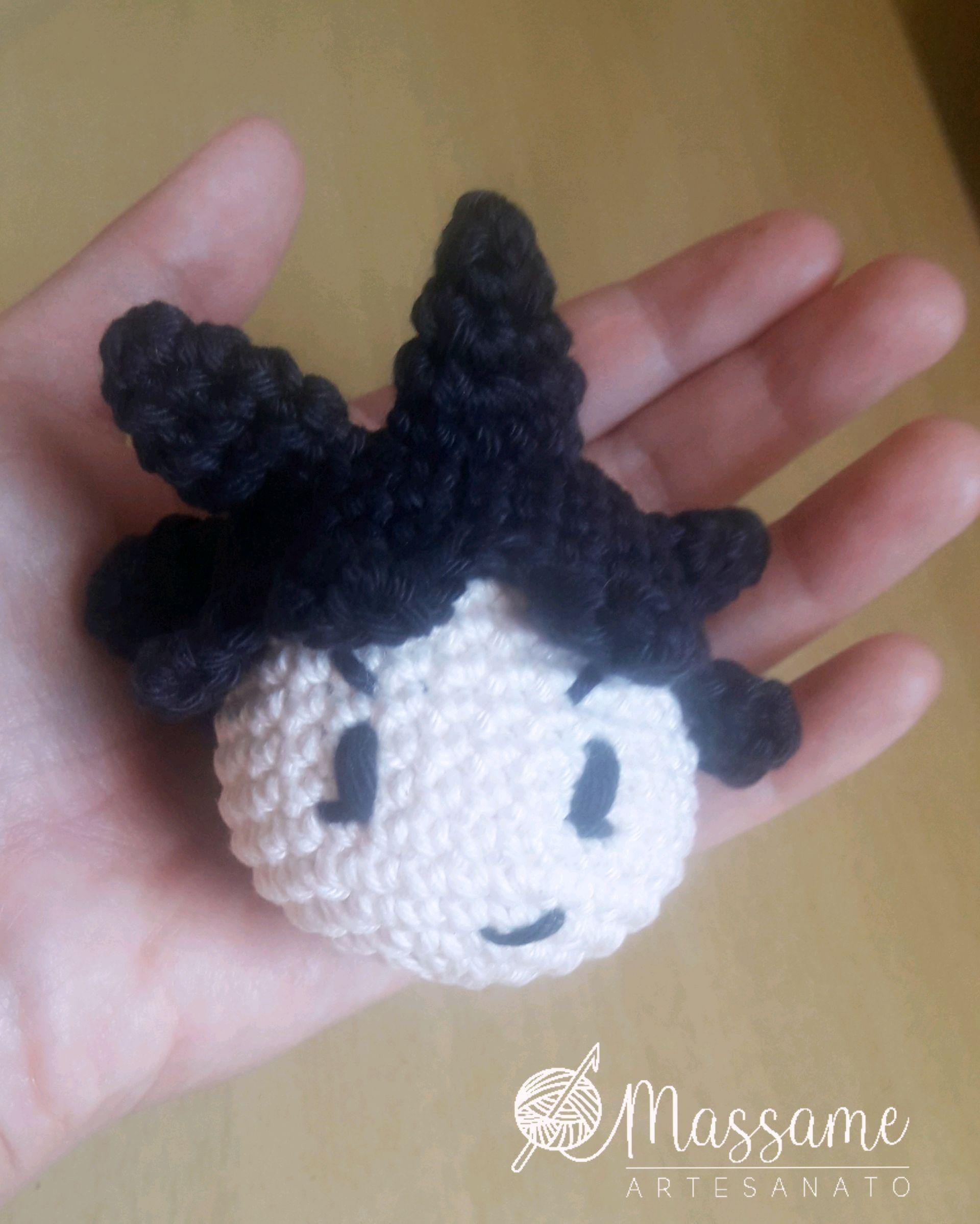 Goku de Dragon Ball Boneco Amigurumi Crochê 12 cm no Elo7 ... | 2397x1920