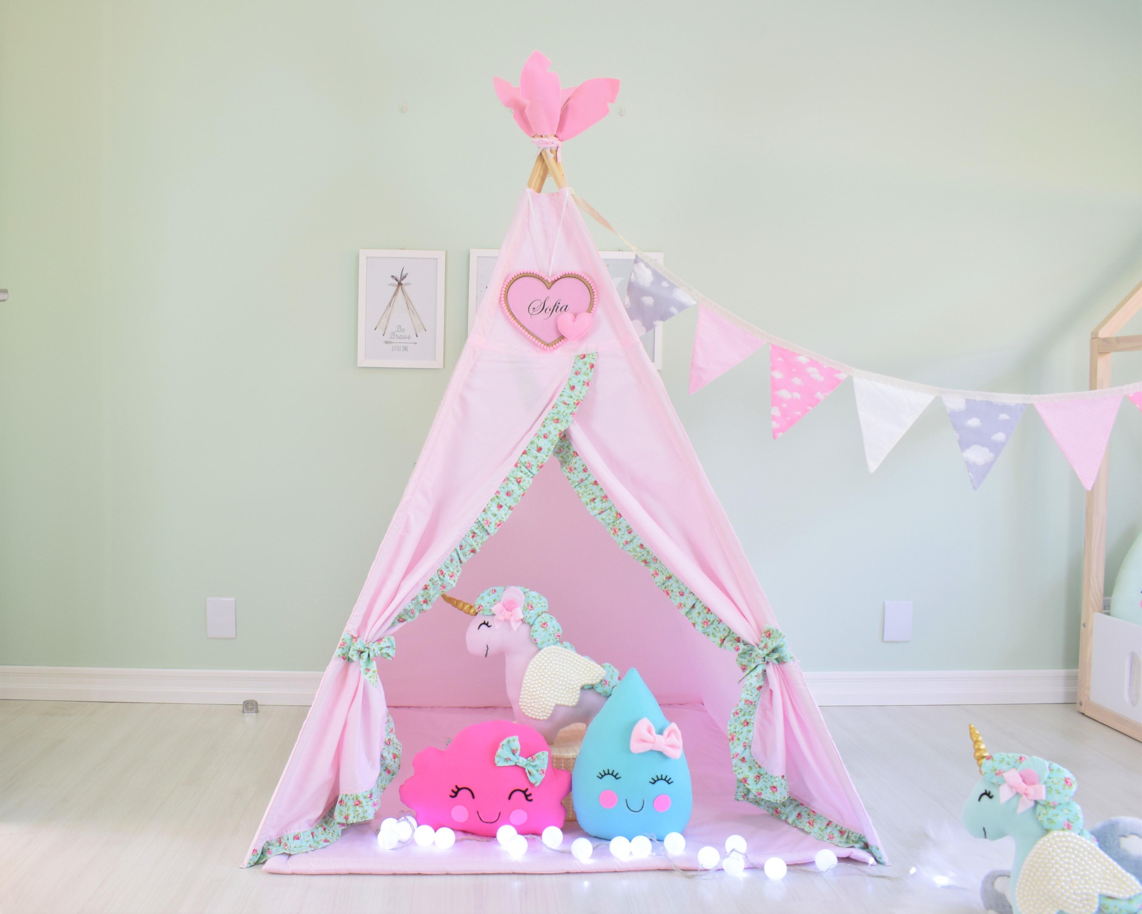 Cabana Infantil Tenda Cabaninha Unicornio No Elo7 Enamorai 1339680
