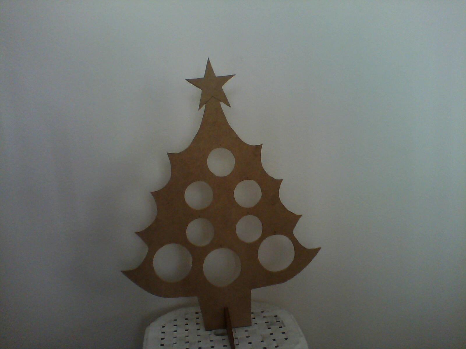 Arvore De Natal Mdf Cru
