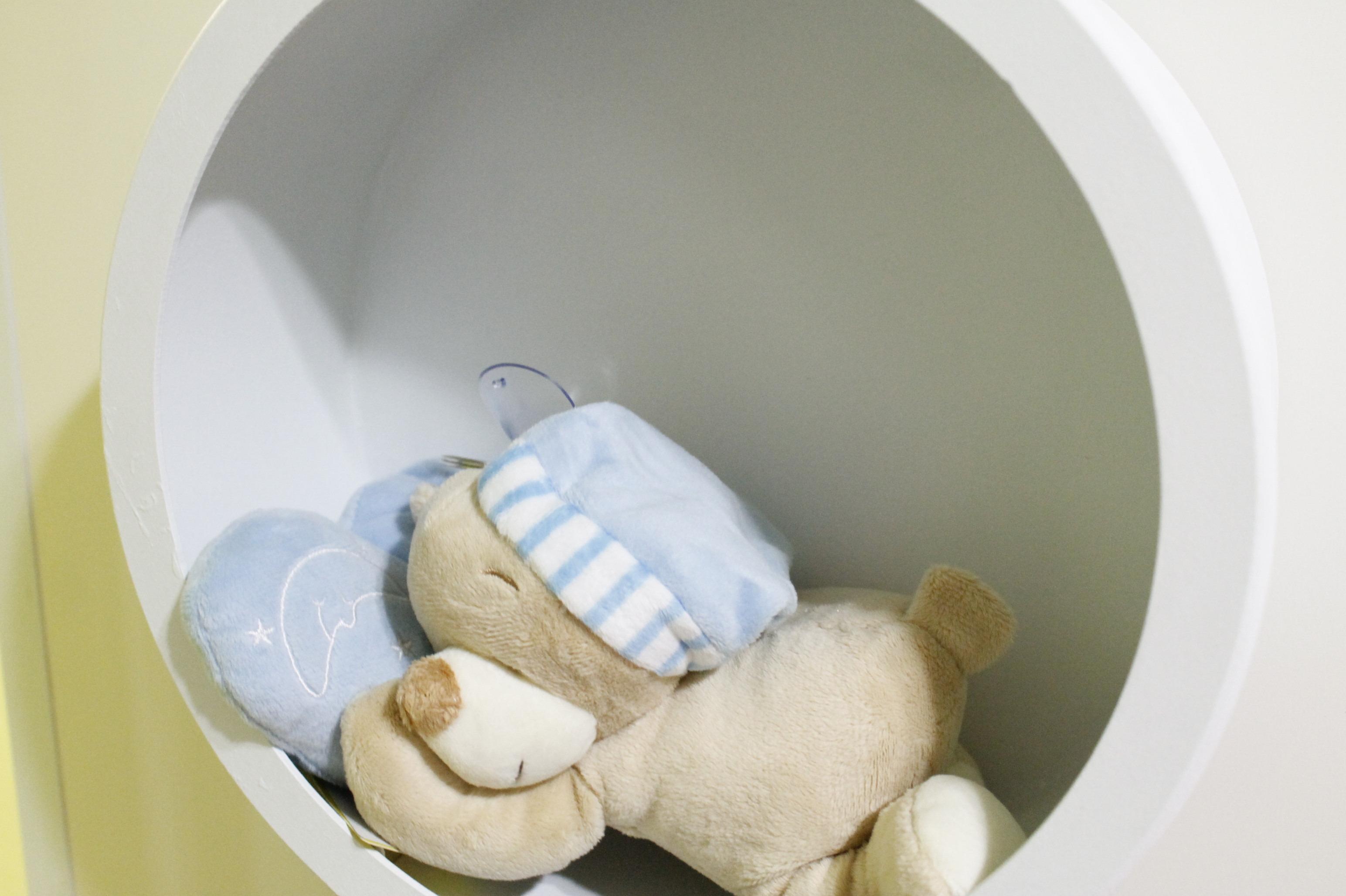 Os Nicho De Bebe ~ Nicho Redondo pra quarto de beb u00ea Liliarte Elo7