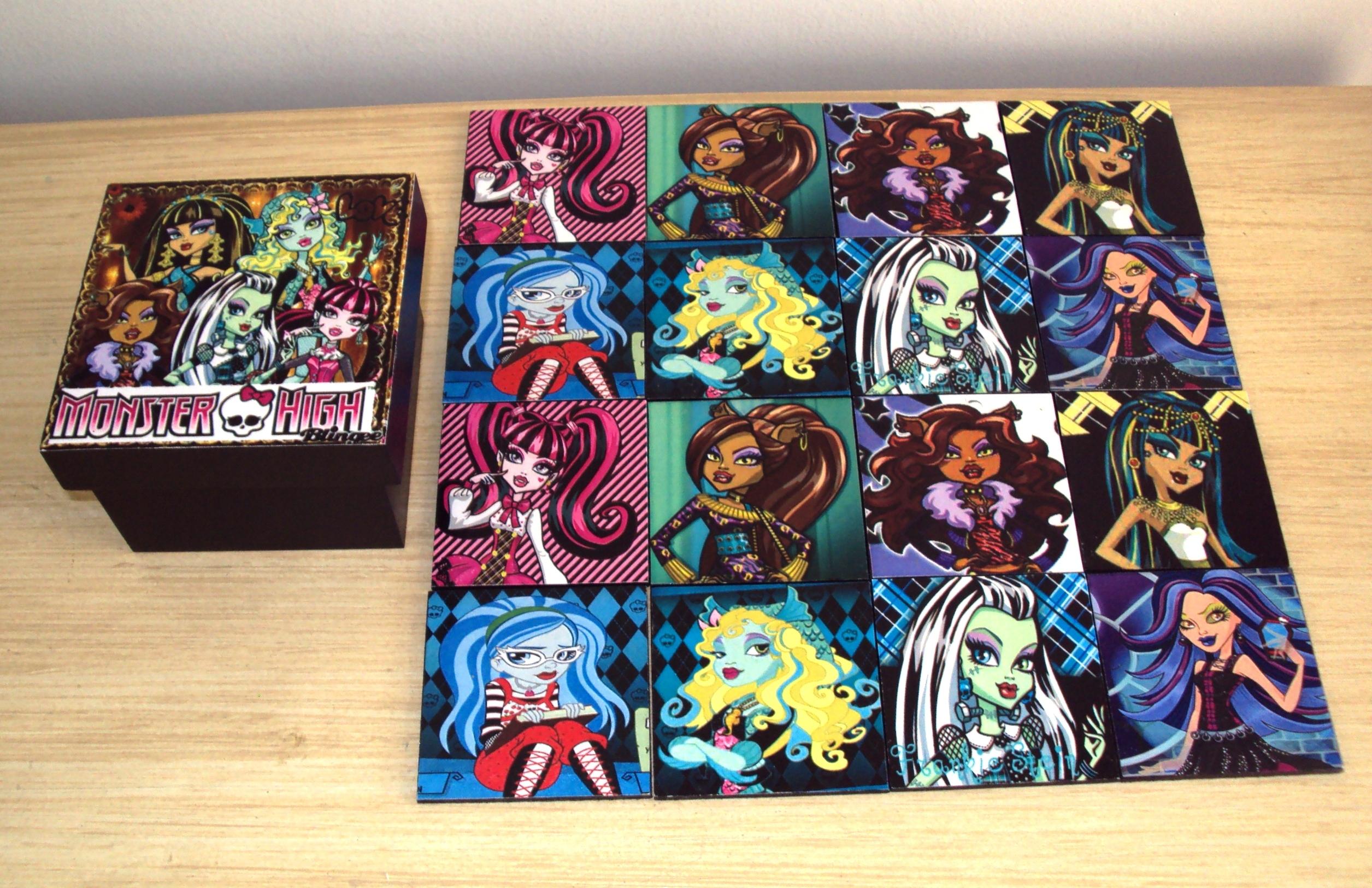 Jogo Da Memória Monster High