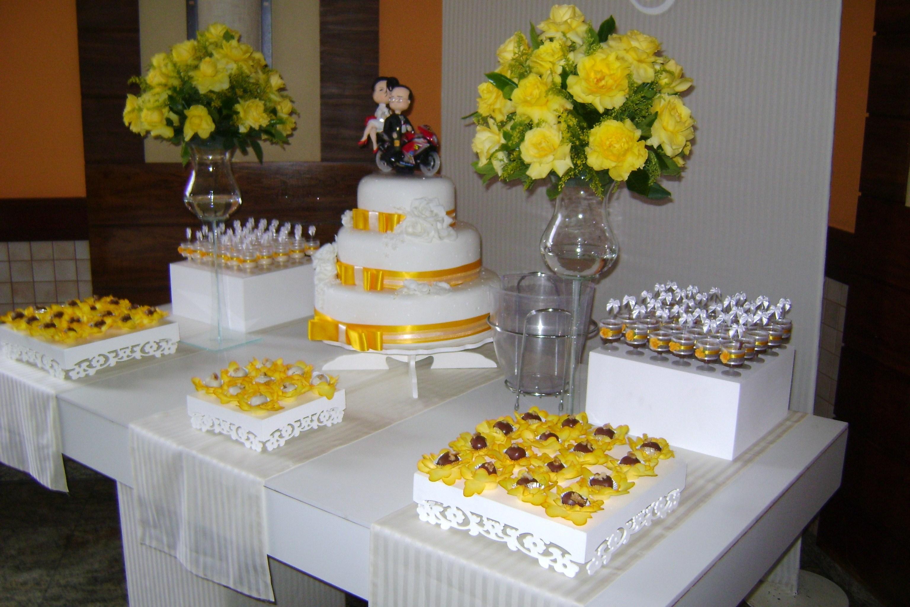 Decora??o de Casamento Clean Loc Cakes e festas Elo7