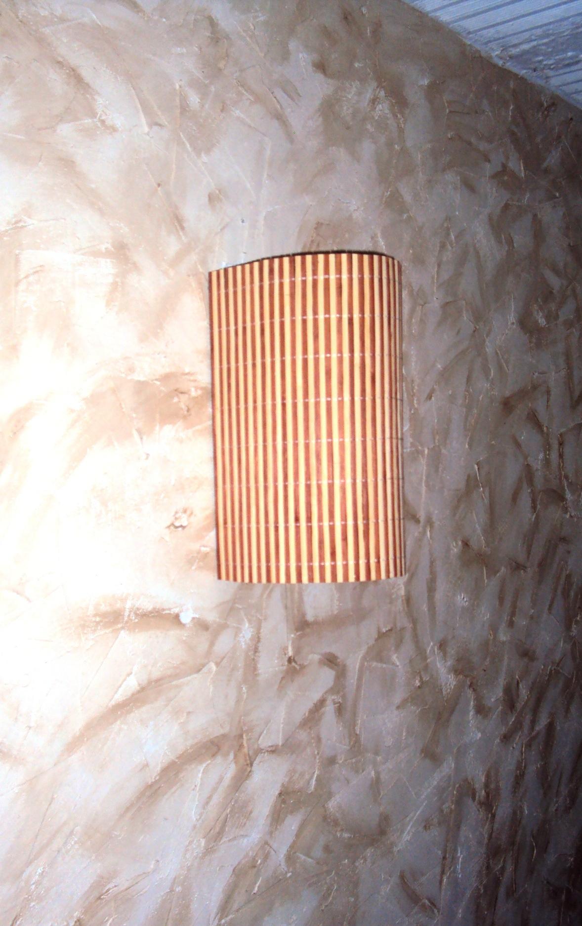 luminária de parede arandela rustica ROSELIARTLUZ Elo7