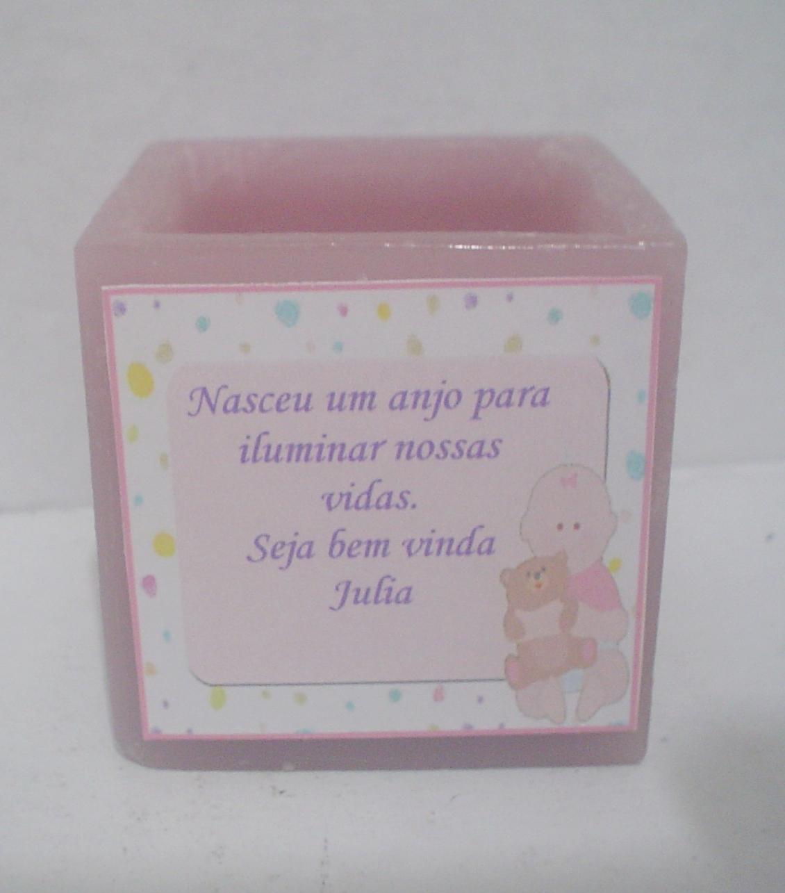 Famosos kit 10 velas Lembrancinha de bebê ou maternidade no Elo7 | Velas  TA14