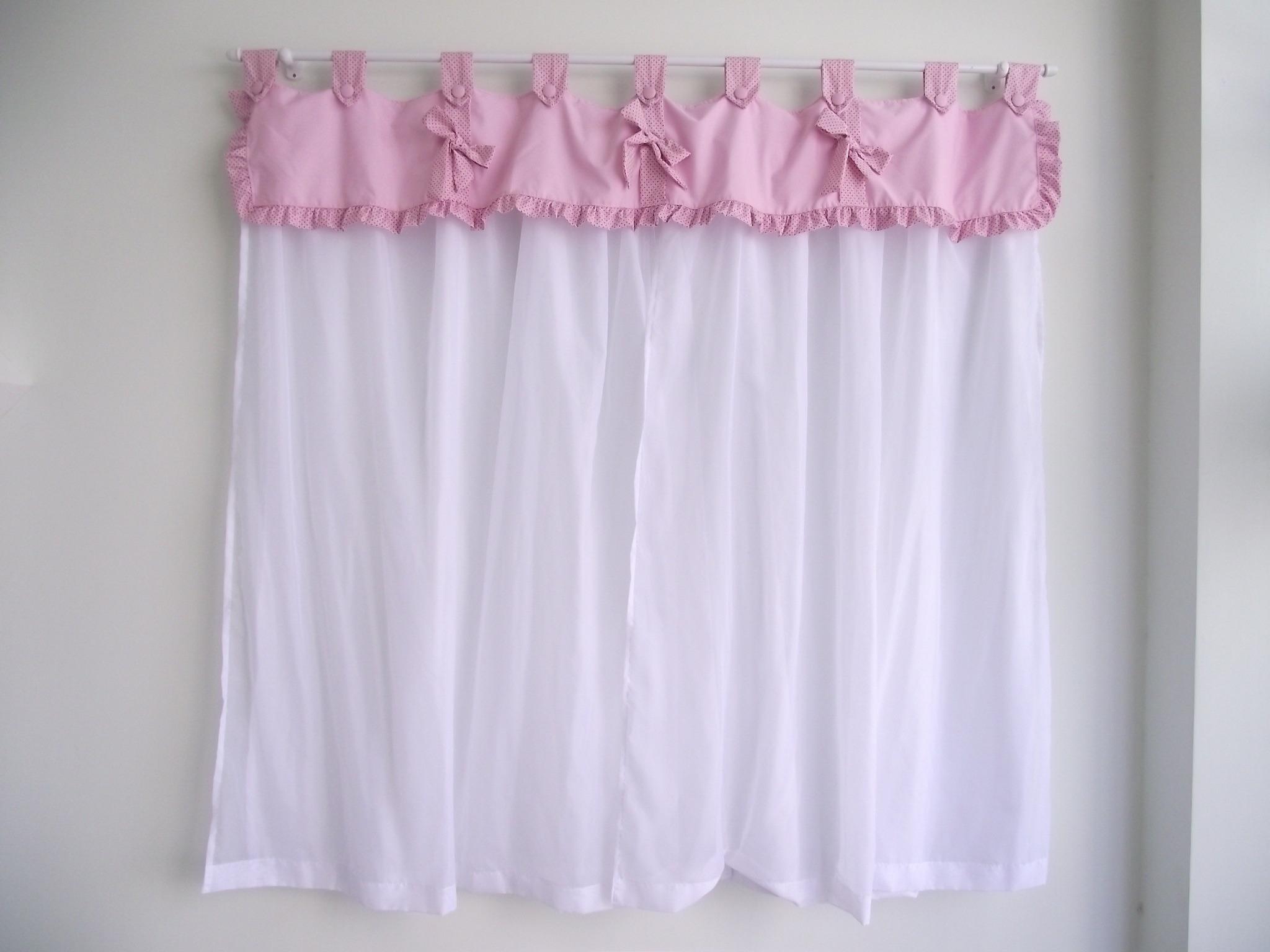 Cortina para quarto de beb la o de fita sonho de beb enxovais elo7 - Modelos de cortinas infantiles ...