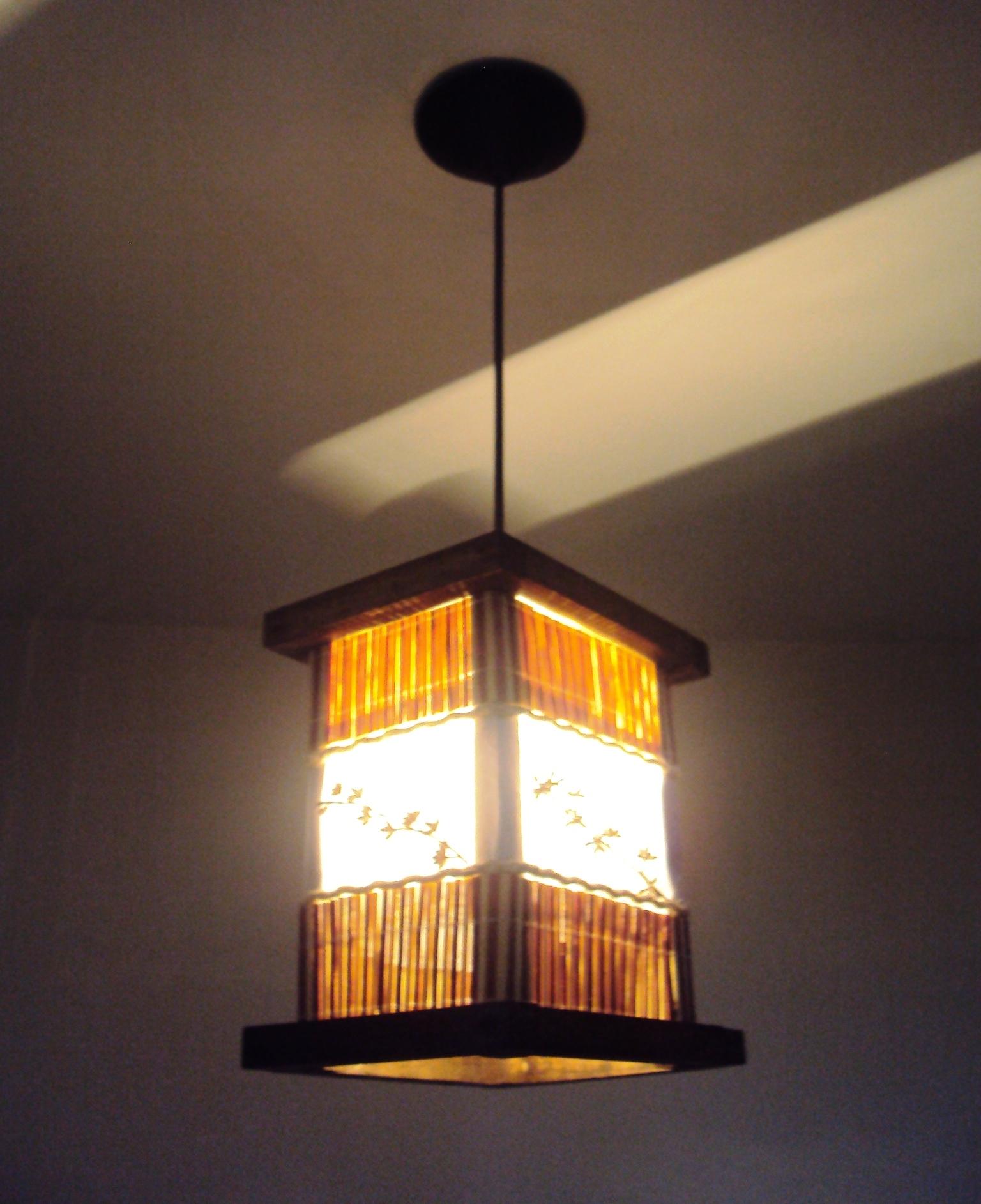 de teto lustre rustico bambu luminaria de teto lustre rustico bambu #C59506 1536x1885