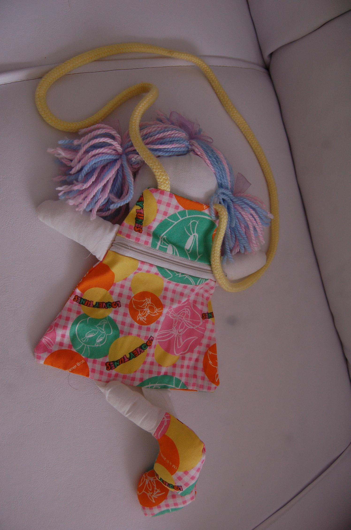 Bolsa De Pano Artesanato : Bolsa boneca de pano mil ideias cria??o e arte elo