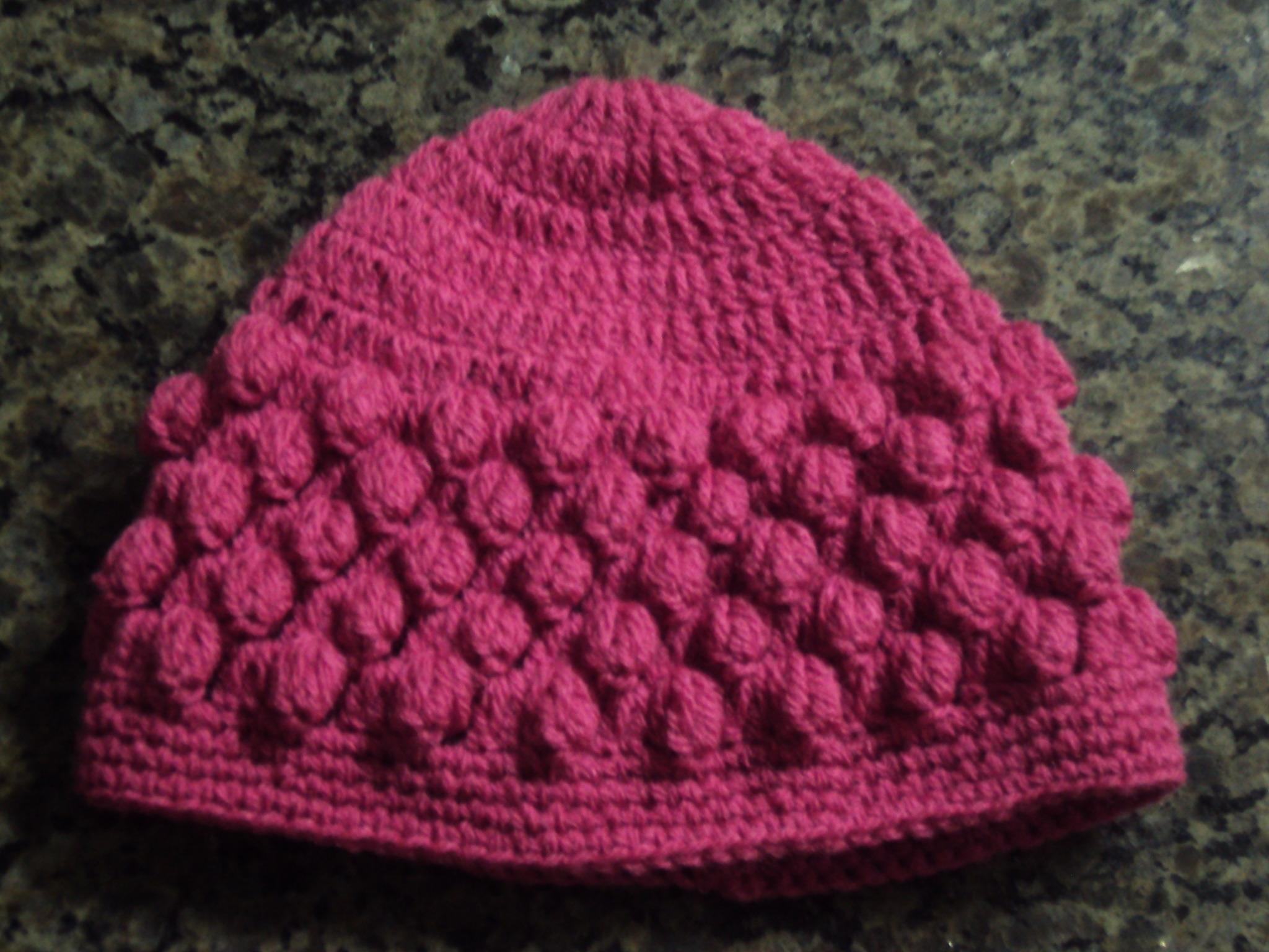 Gorro Croche Adulto  d3ac6936f9d