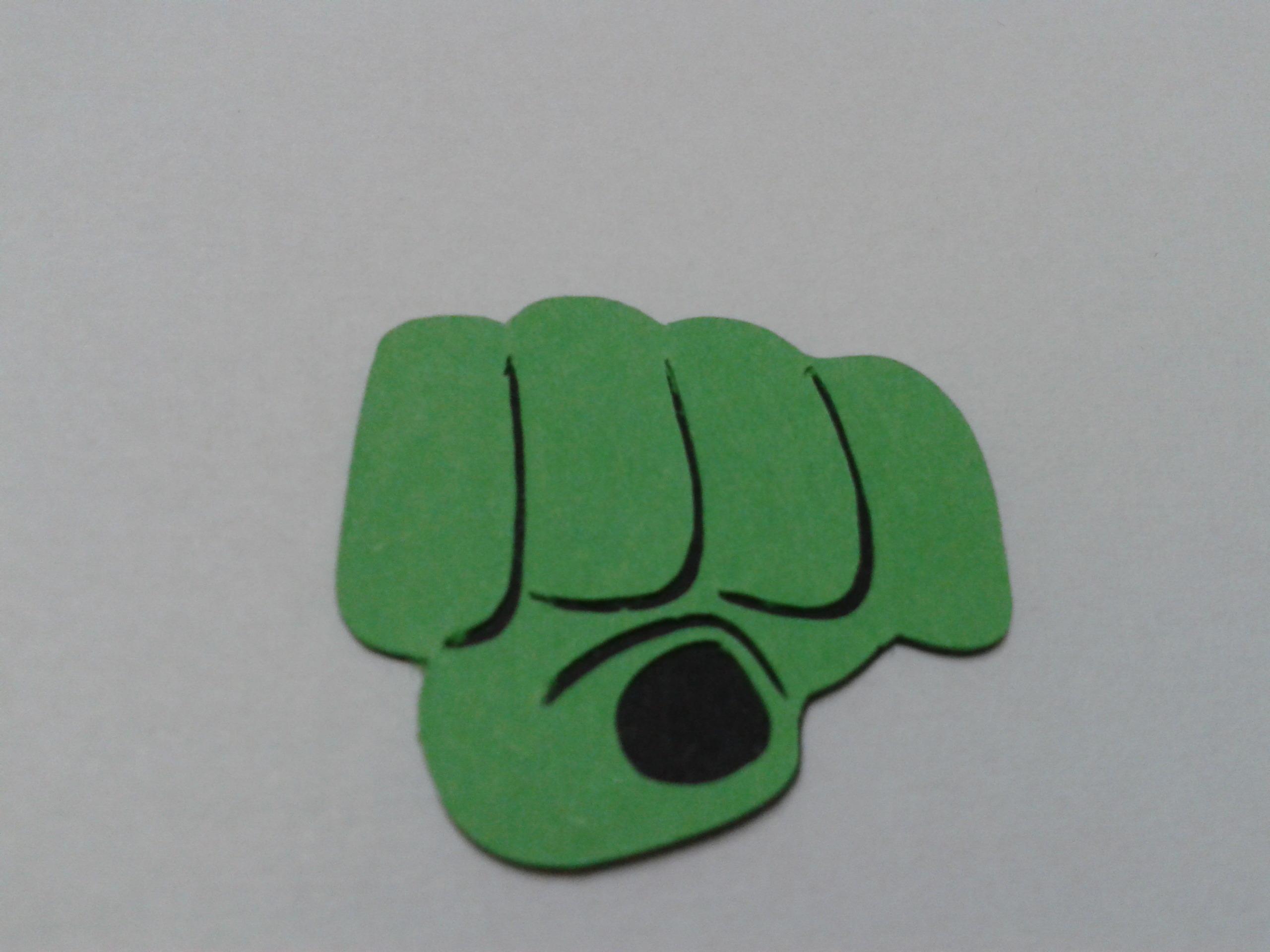 Mao Hulk Pacote Com 15 Unidades No Elo7 Nandita Recortes Em