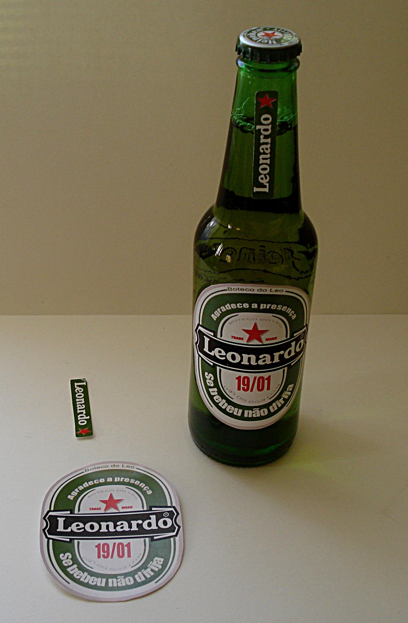 Suficiente Lembrança aniversário modelo cerveja no Elo7 | Fábrica dos  BM97