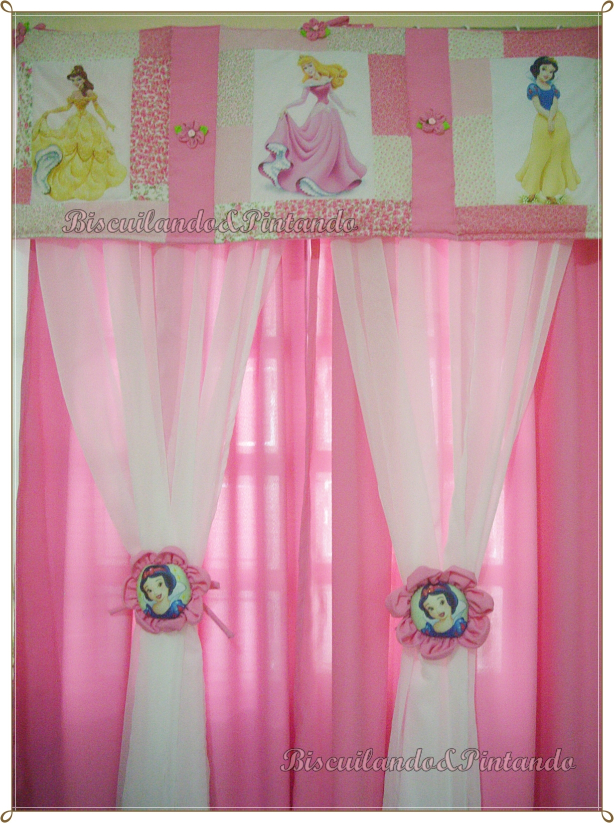 Cortinas princesas disney blackout princesa disney - Cortinas de princesas ...