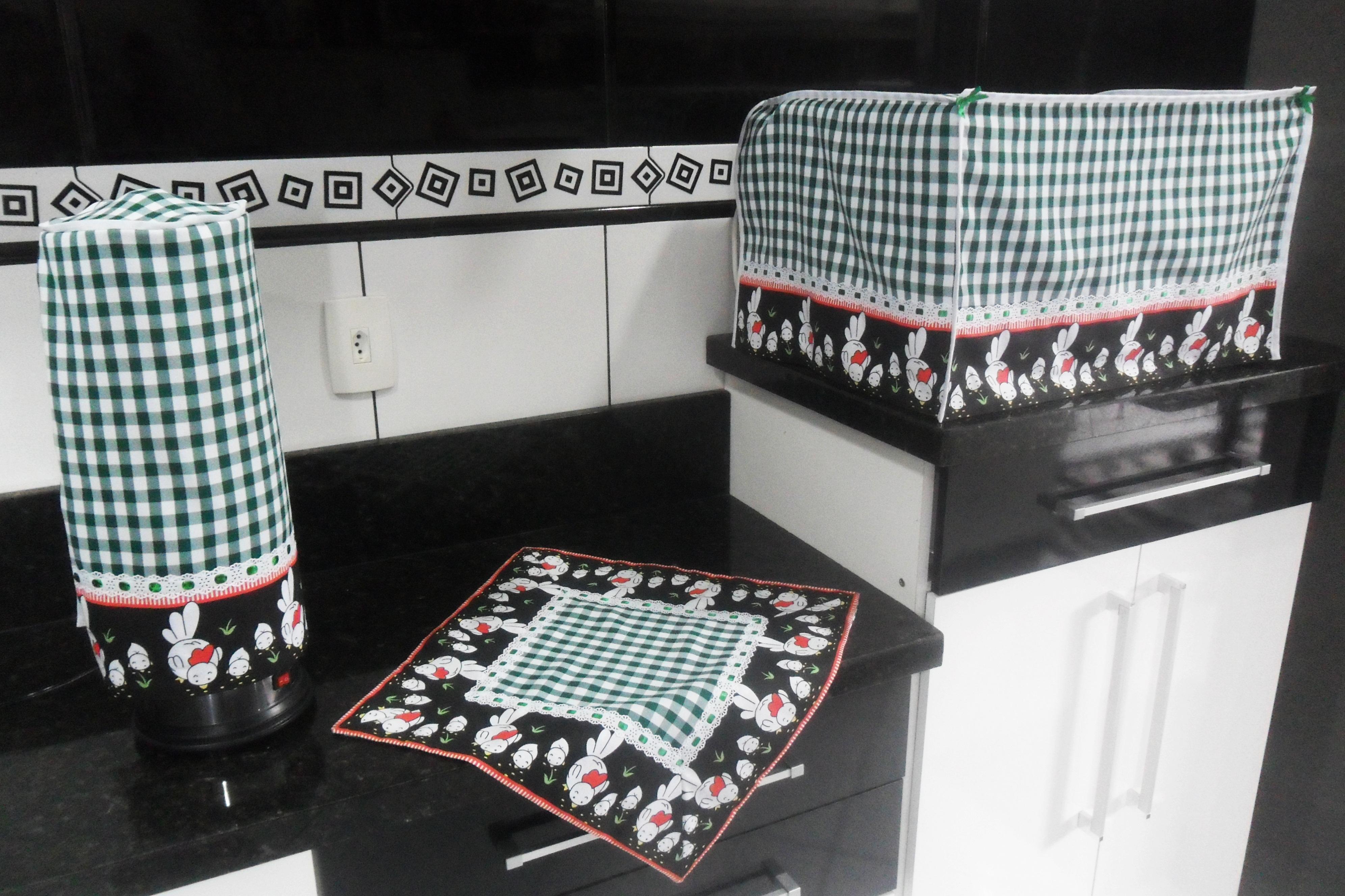 Cortina Para Pia De Cozinha Xadrez Ou05 Ivango