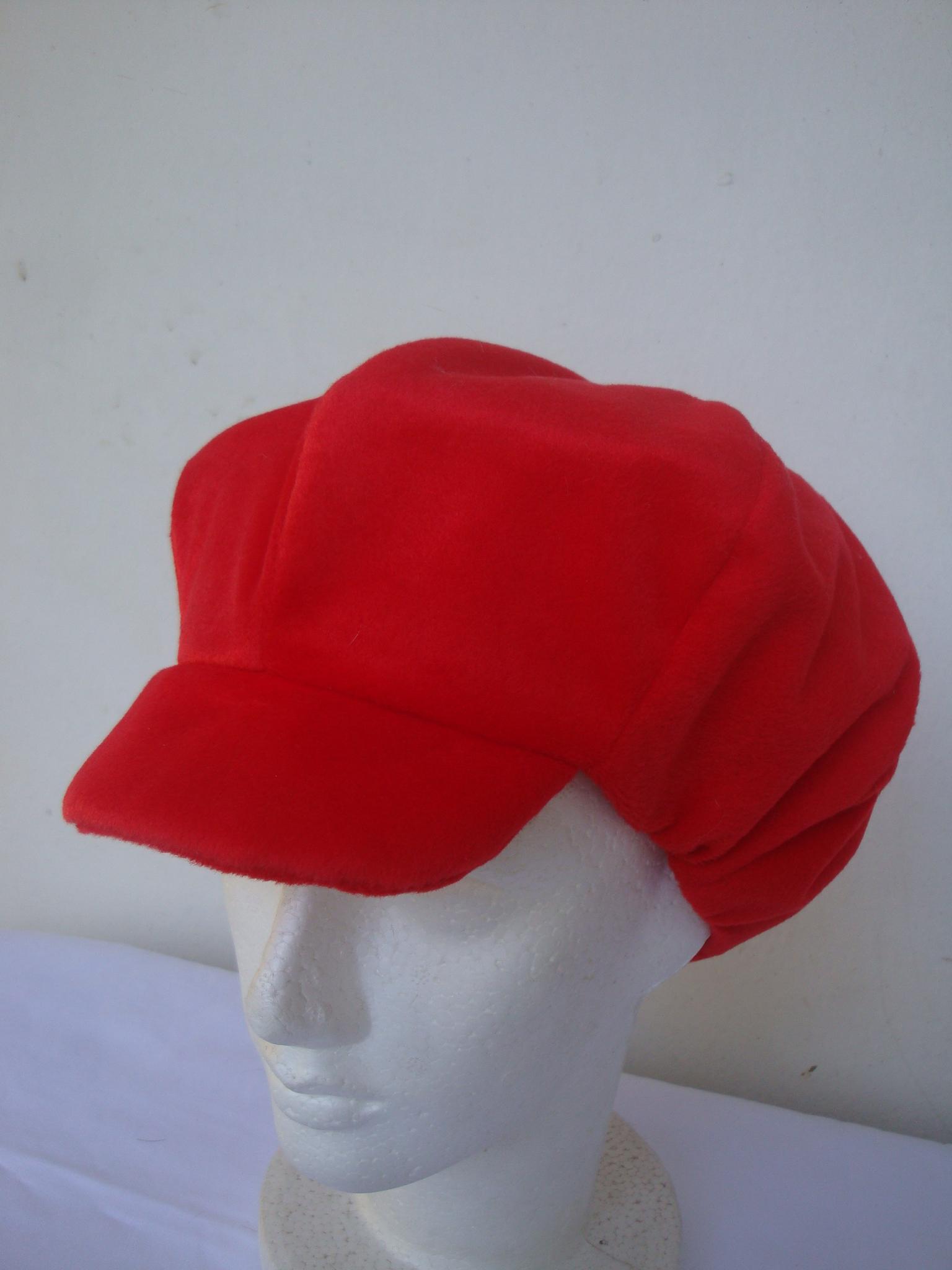 Boina Feminina Vermelha  f064c54a59e