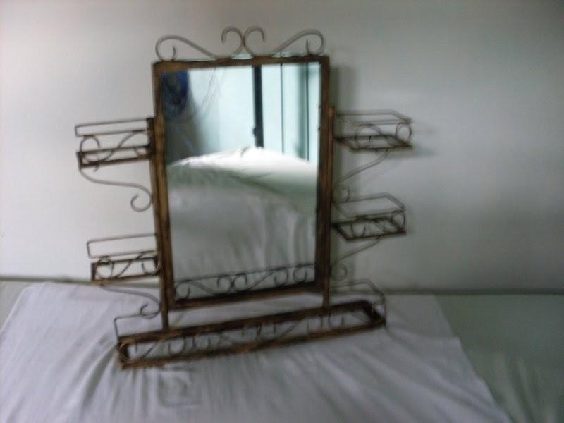Armario c espelho p banheiro  wwwelo7combrbetogoteiraarteemferro   -> Armario De Banheiro Artesanal