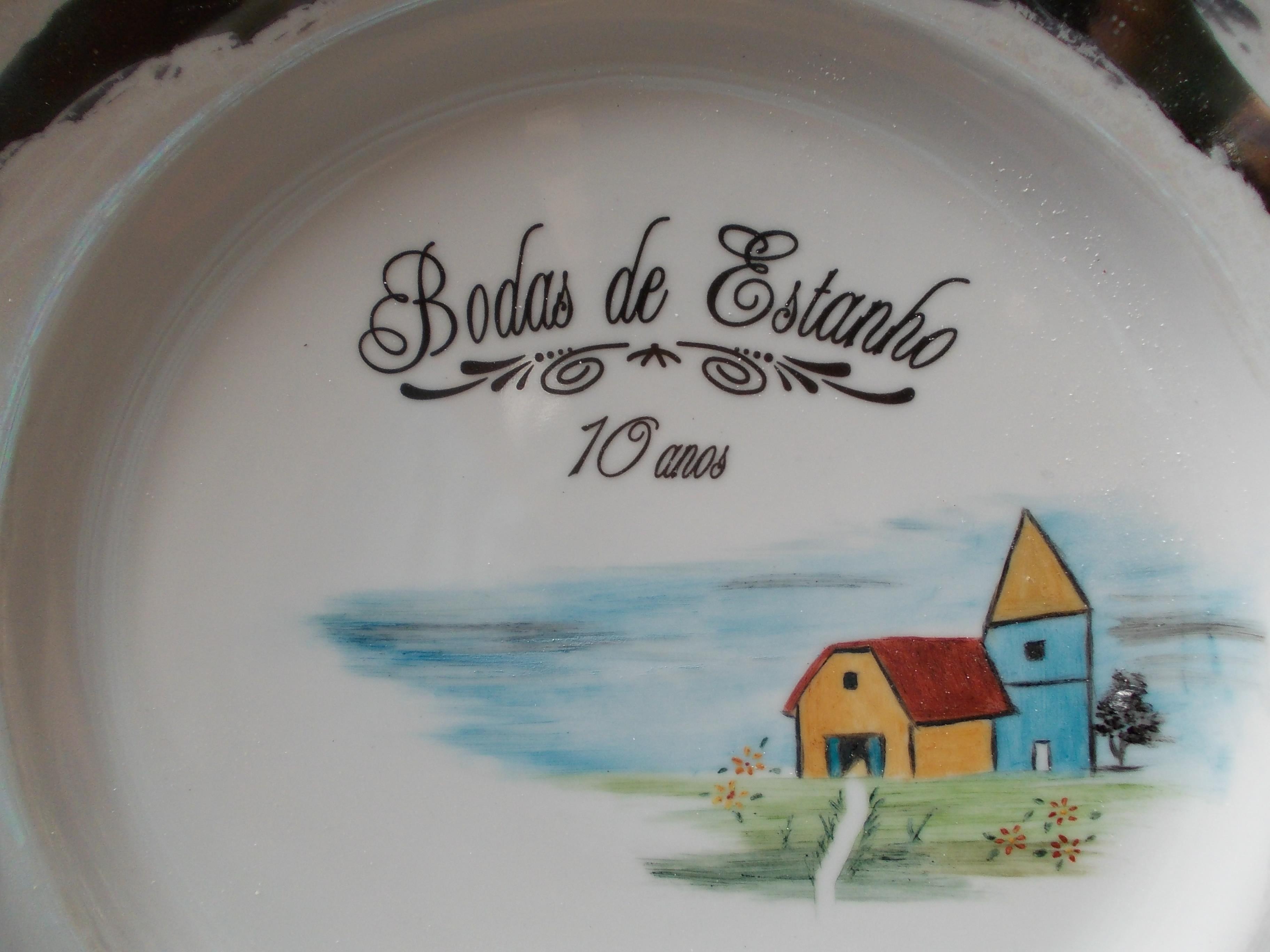Prato Bodas De Estanho No Elo7 Made In Brazil Arte Moderna 31f007