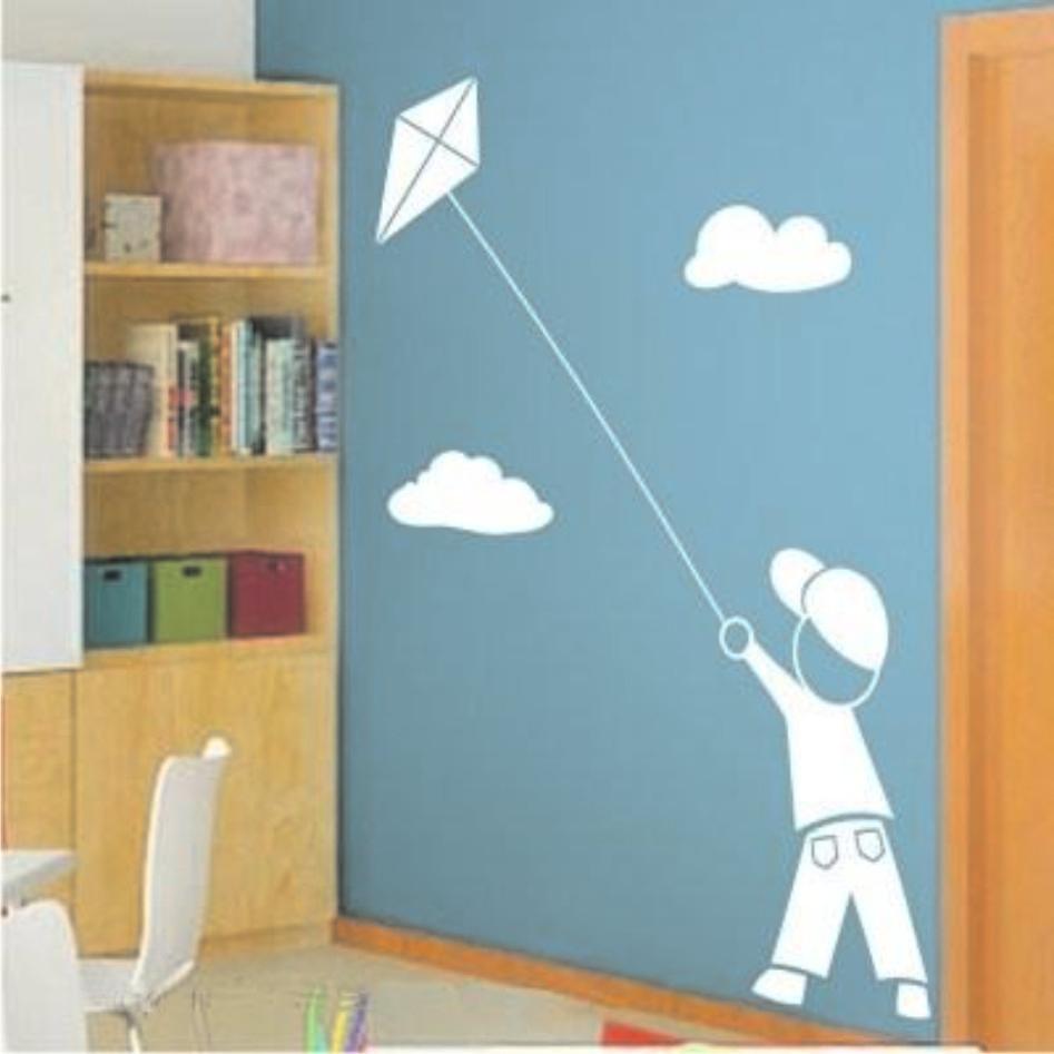 Adesivo parede infantil menino com pipa adesivos de parede com frete gr tis elo7 - Letras para paredes infantiles ...