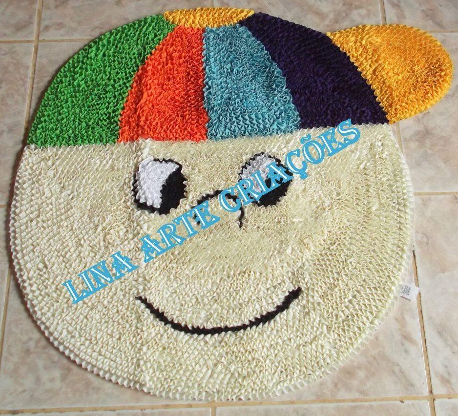 Tapete Quarto Menino Bone Croche  92316633208