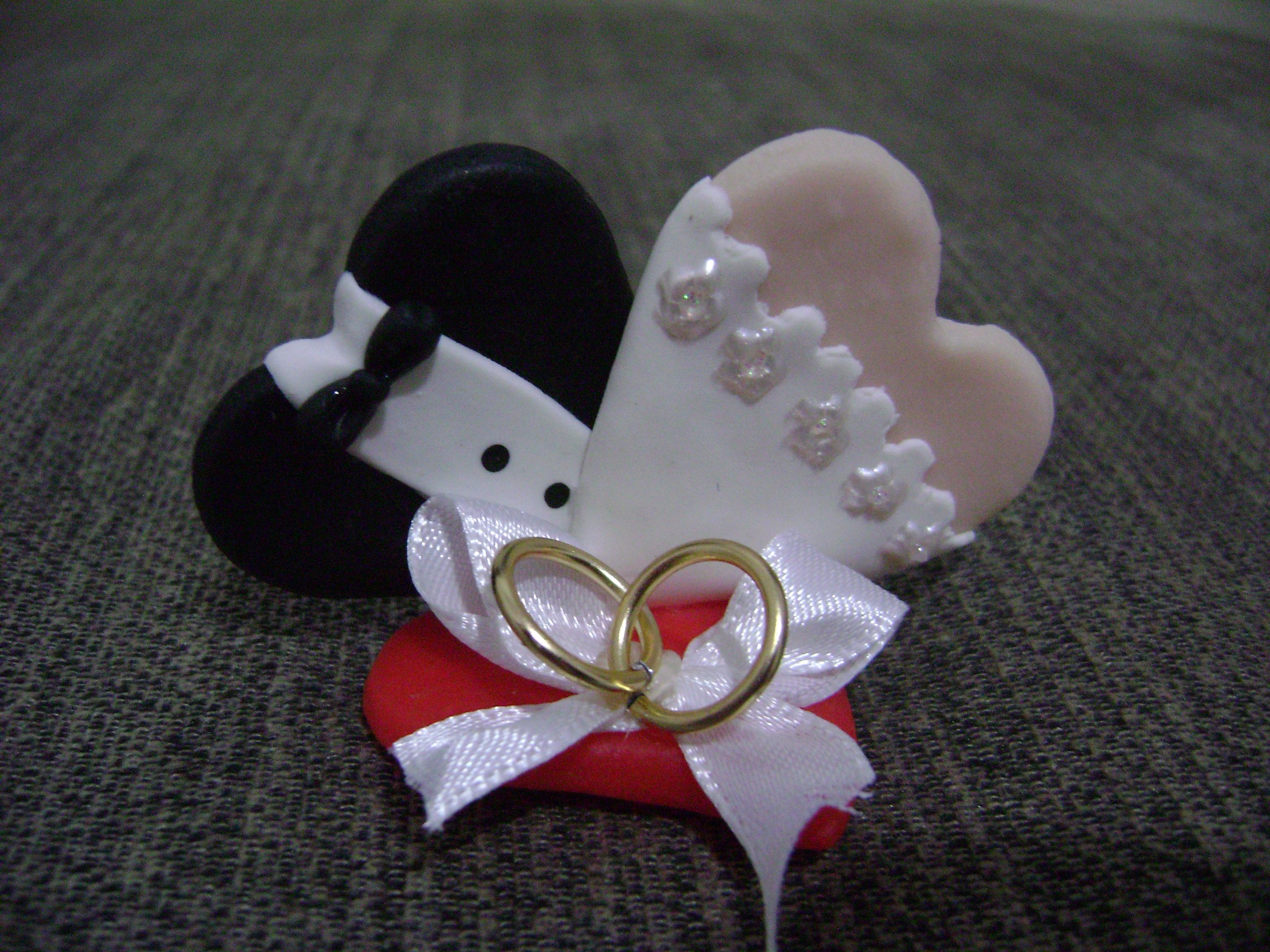 Lembrancinha Para Casamento - Corações no Elo7 | GIL SANTANA BISCUIT  (326E1E)