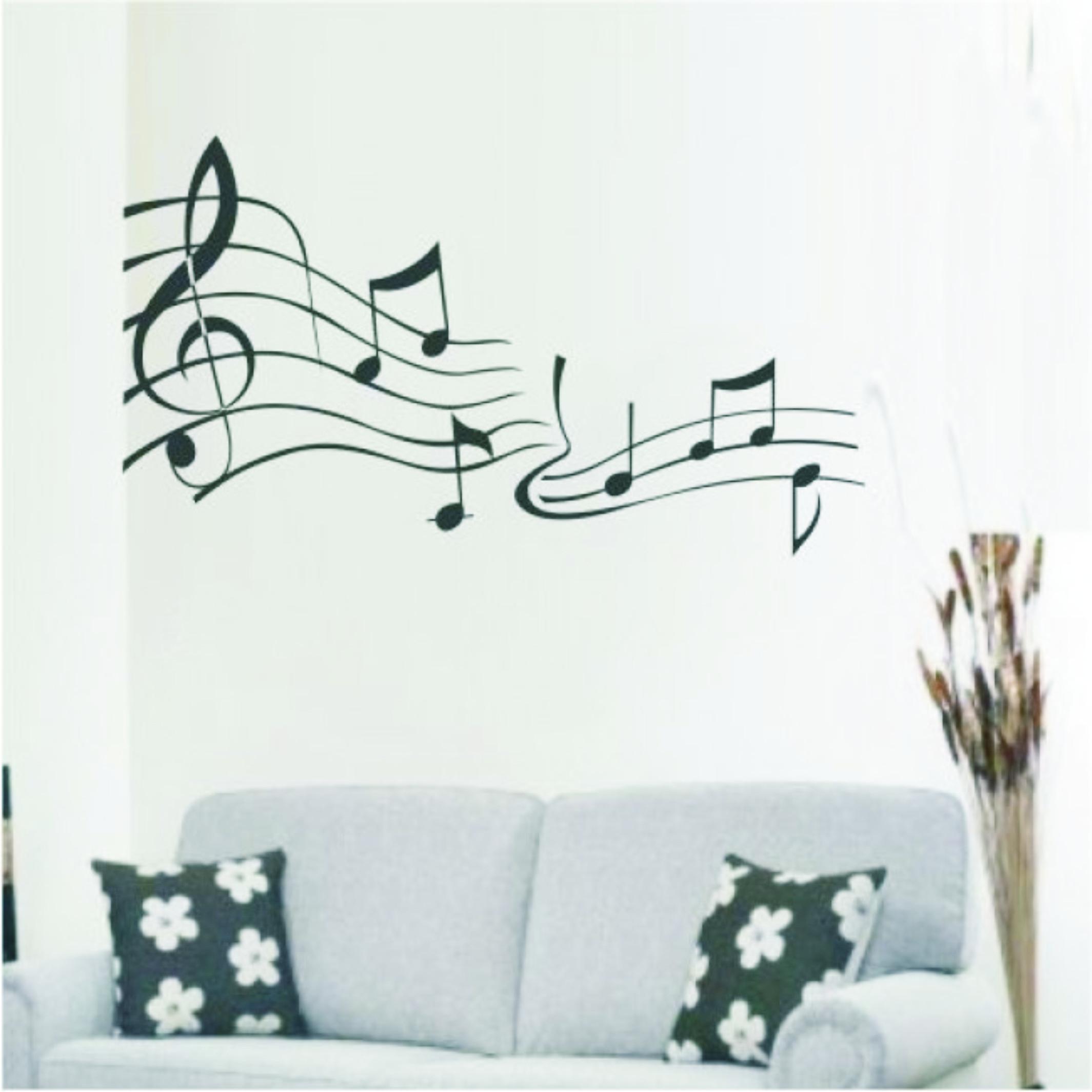 Tipos De Artesanato Gaúcho ~ Adesivo De Parede Partitura musical Adesivos de Parede Frete GRÁTIS Elo7
