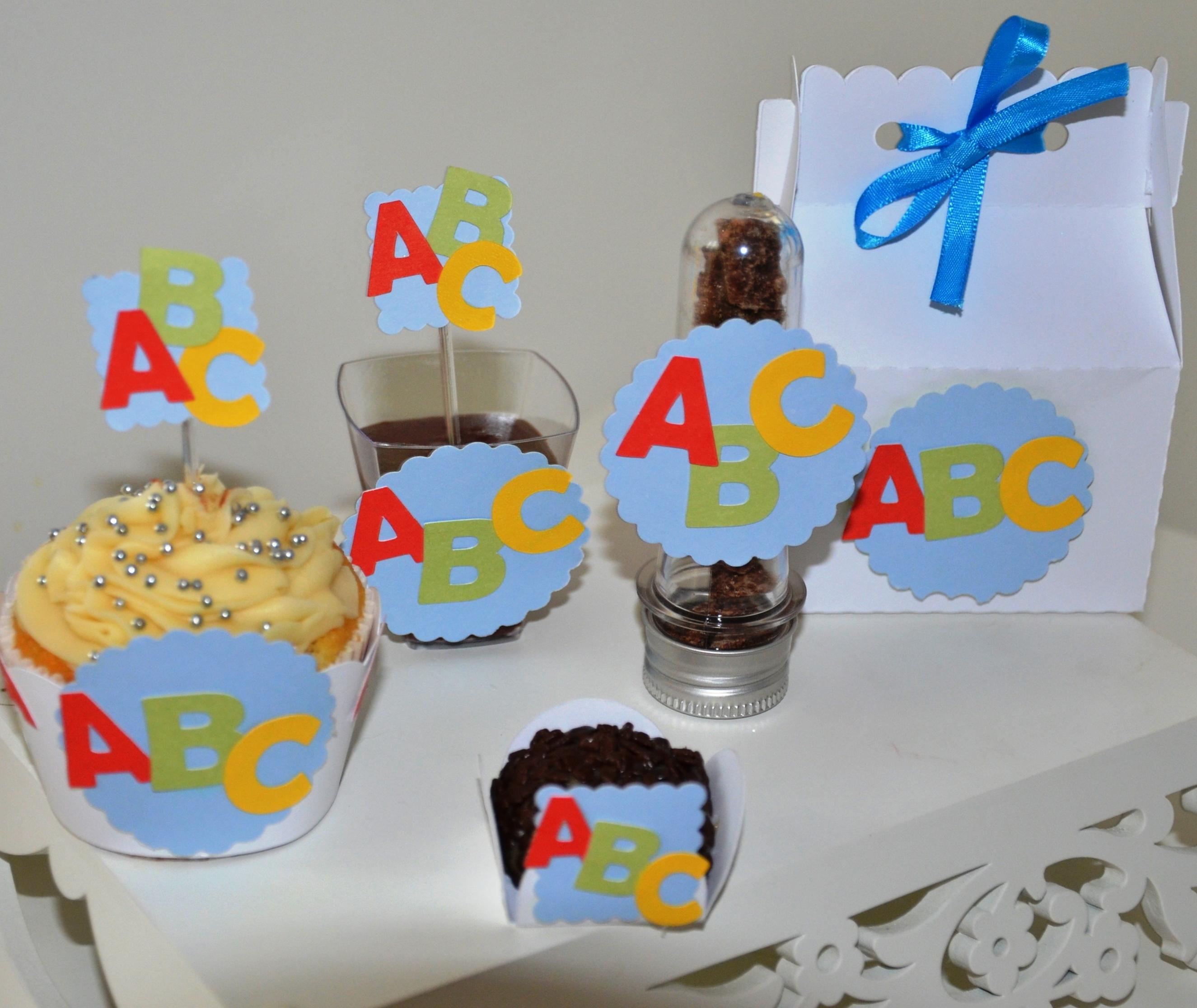 Artigos para festa abc
