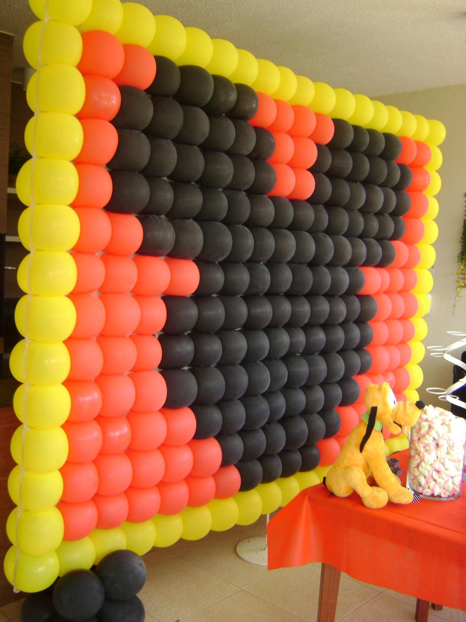 Painel Do Mickey Loc Cakes E Festas Elo7