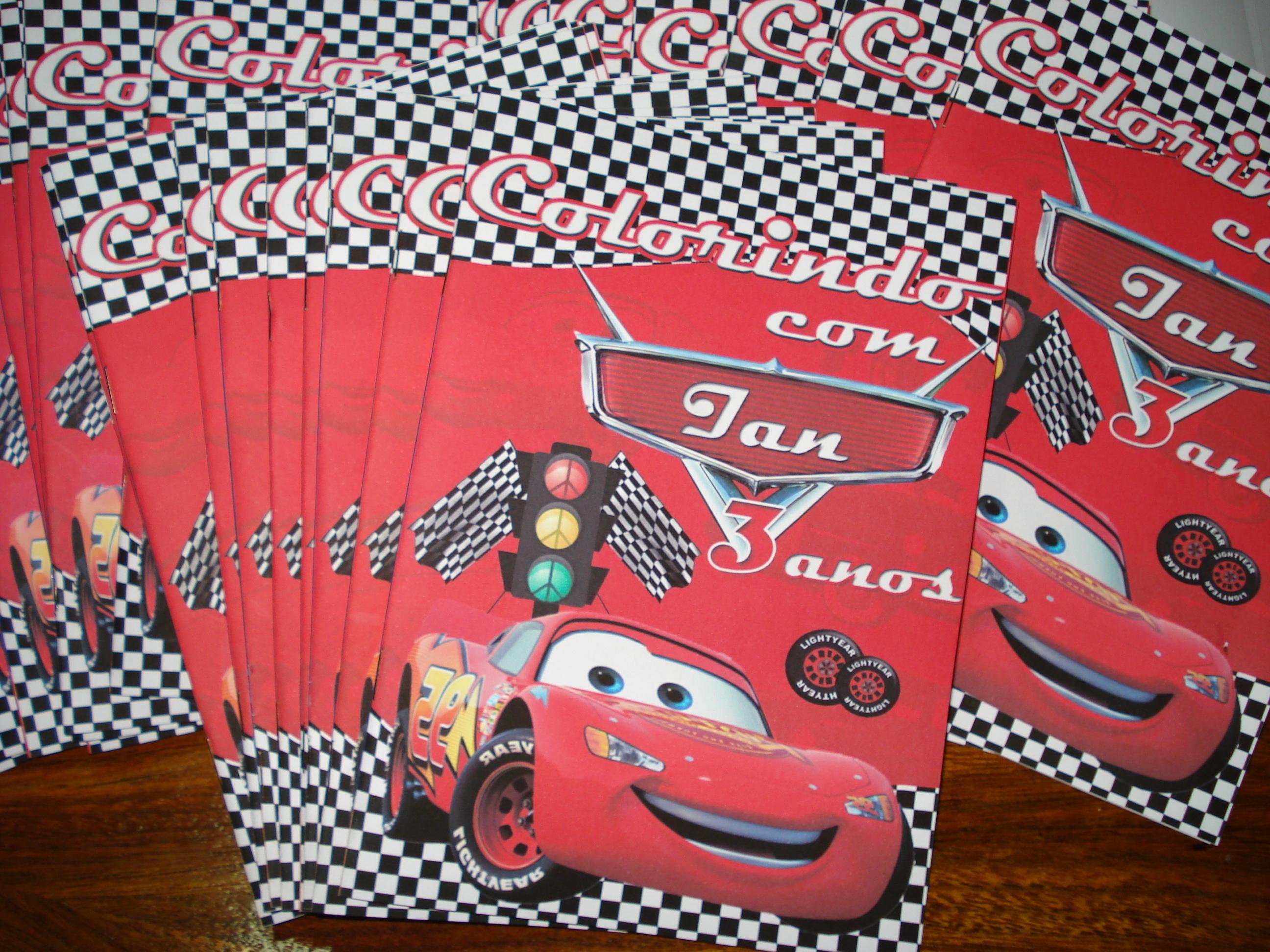 Livrinho Para Colorir Carros 14x10 No Elo7 Tudo De Festa Galvao