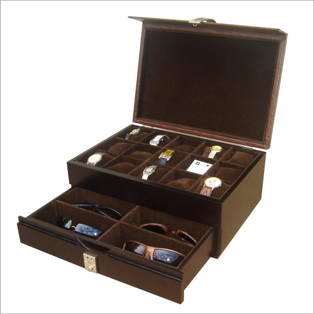 291d42d4cb6 Caixa para relógios e óculos -Cód 26800 no Elo7