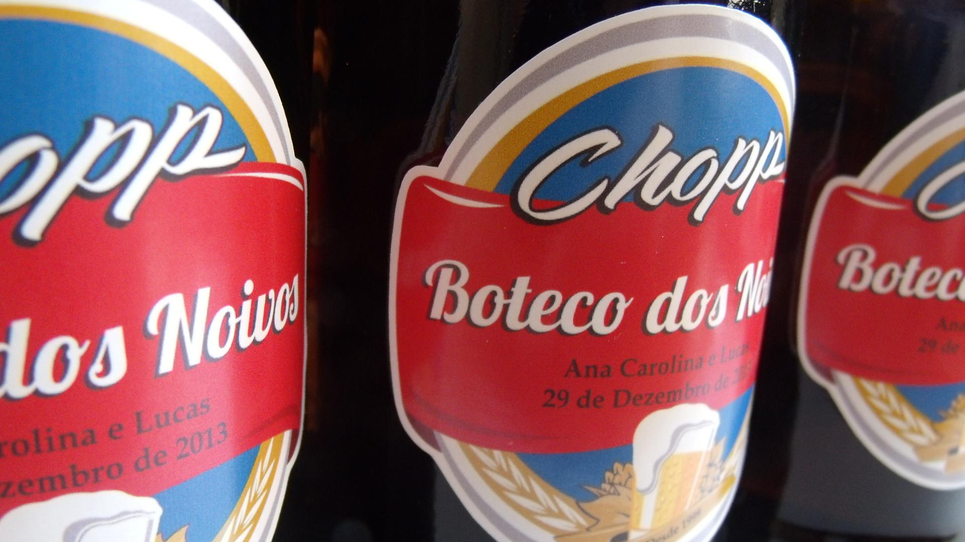 Muitas vezes Rótulos Mini Garrafa de Cerveja - 300 mL no Elo7 | Pinnkd Atelier  EZ53