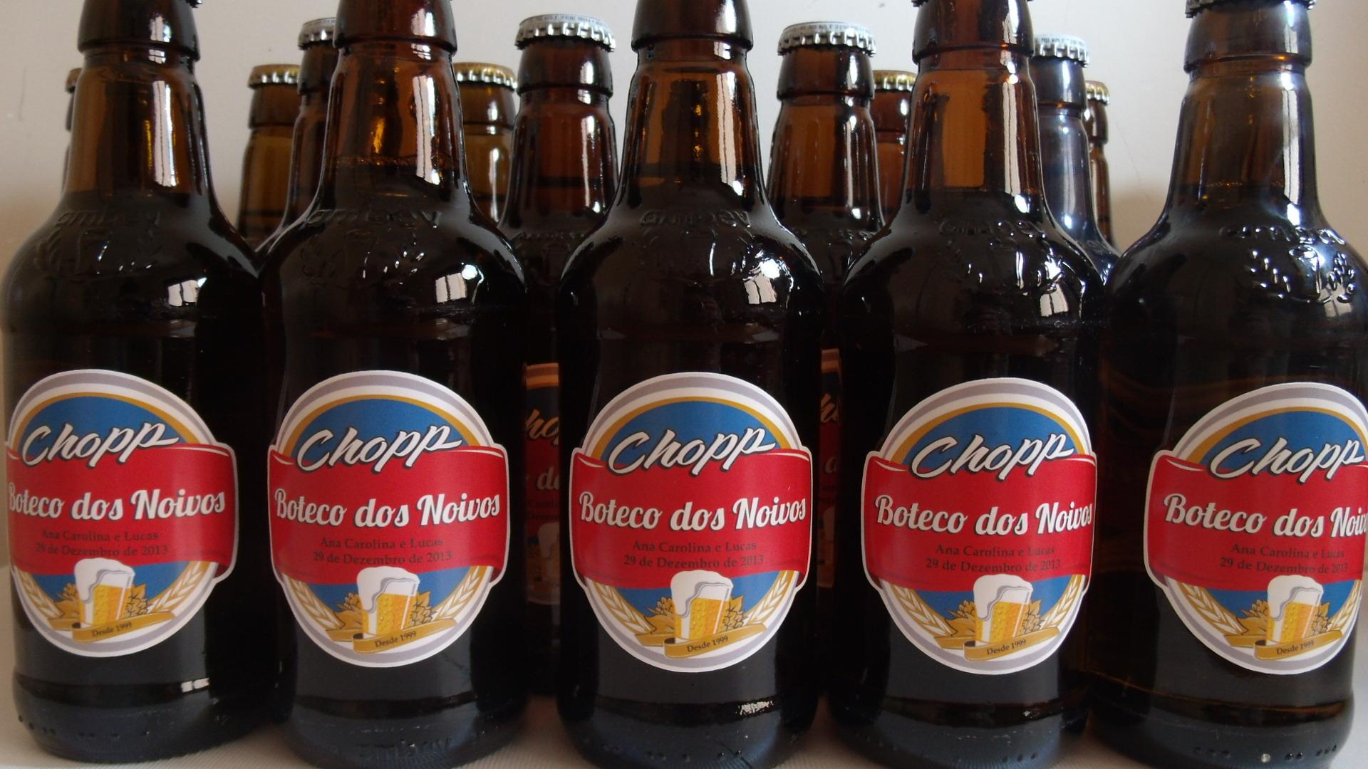 Extremamente Rótulos Mini Garrafa de Cerveja - 300 mL no Elo7 | Pinnkd Atelier  LH49