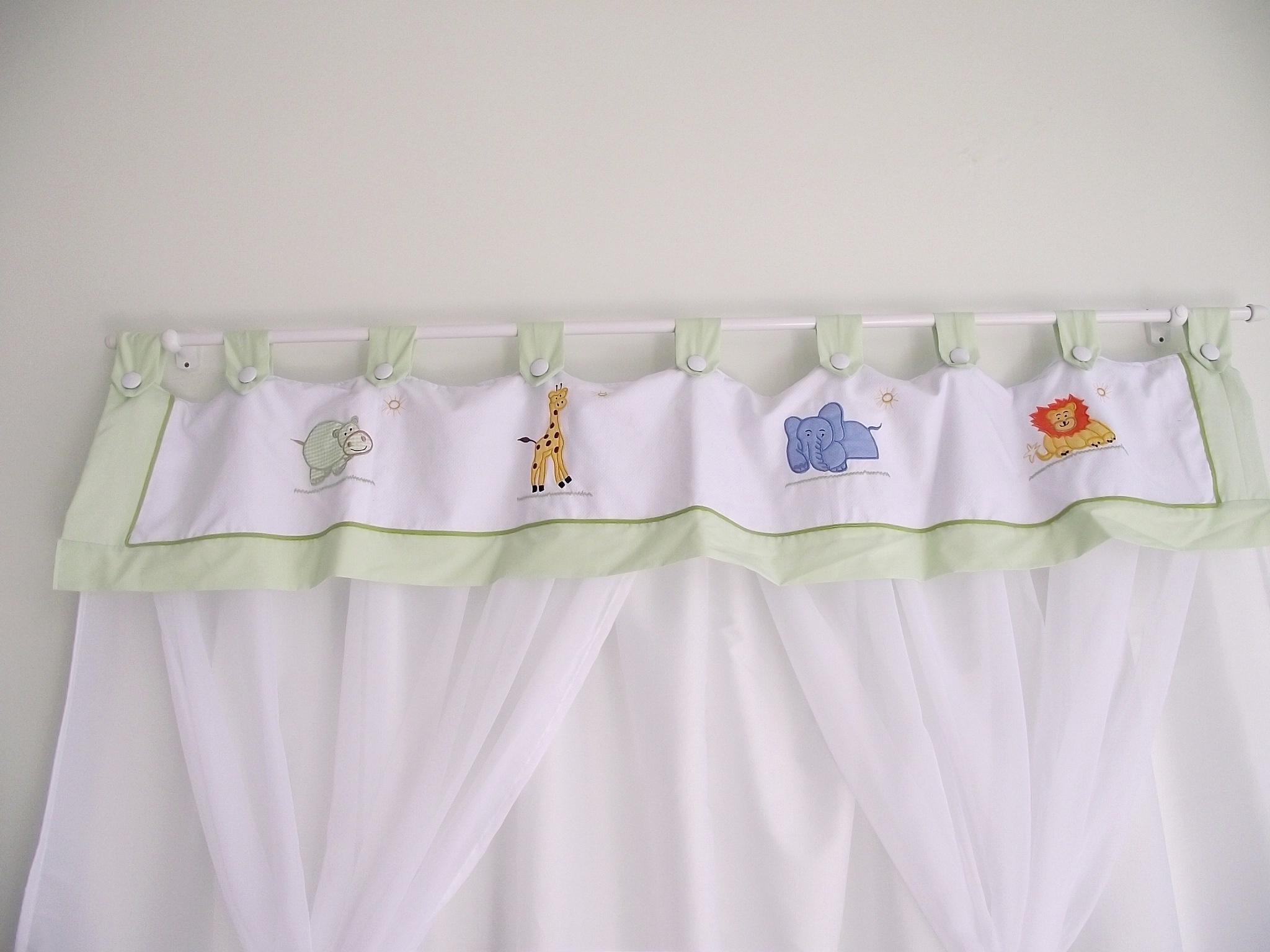 Cortinas Sonho De Beb Enxovais Elo7 ~ Tipos De Cortinas Para Quarto E Quarto De Bebê Decoração