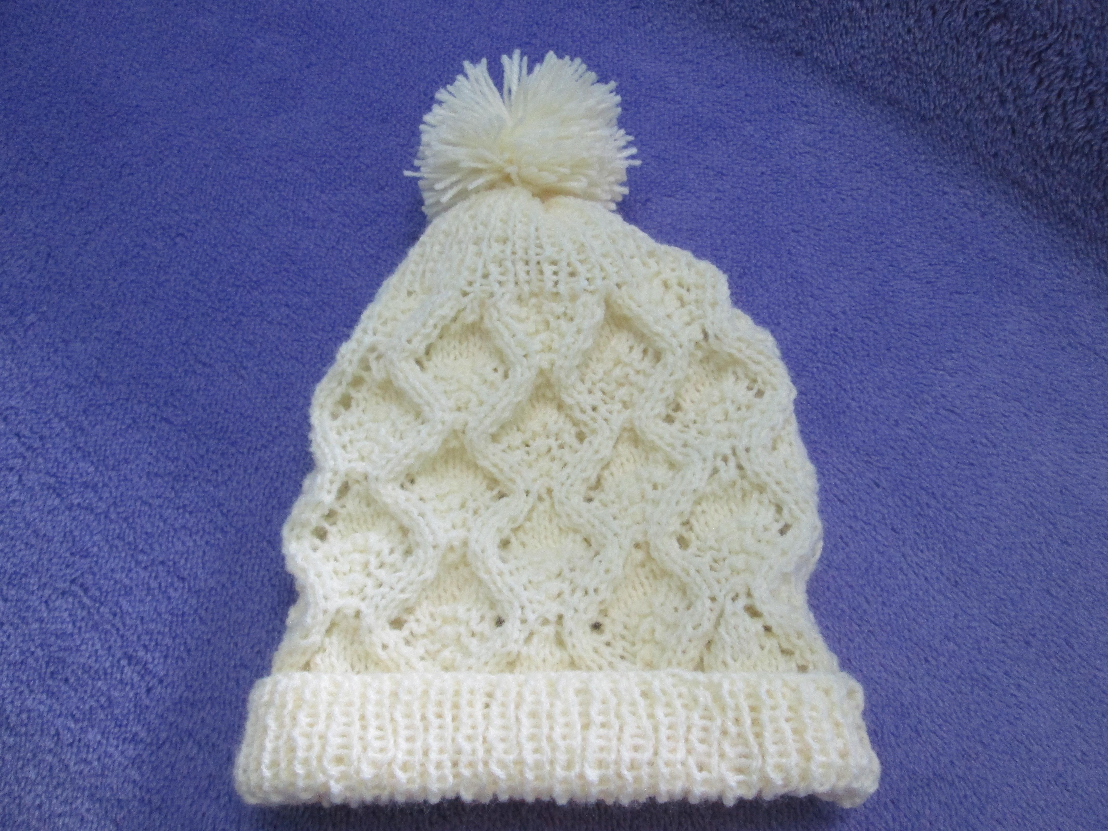 Receitas de Trico e Croche Gorro em tricot bc32979cd5f