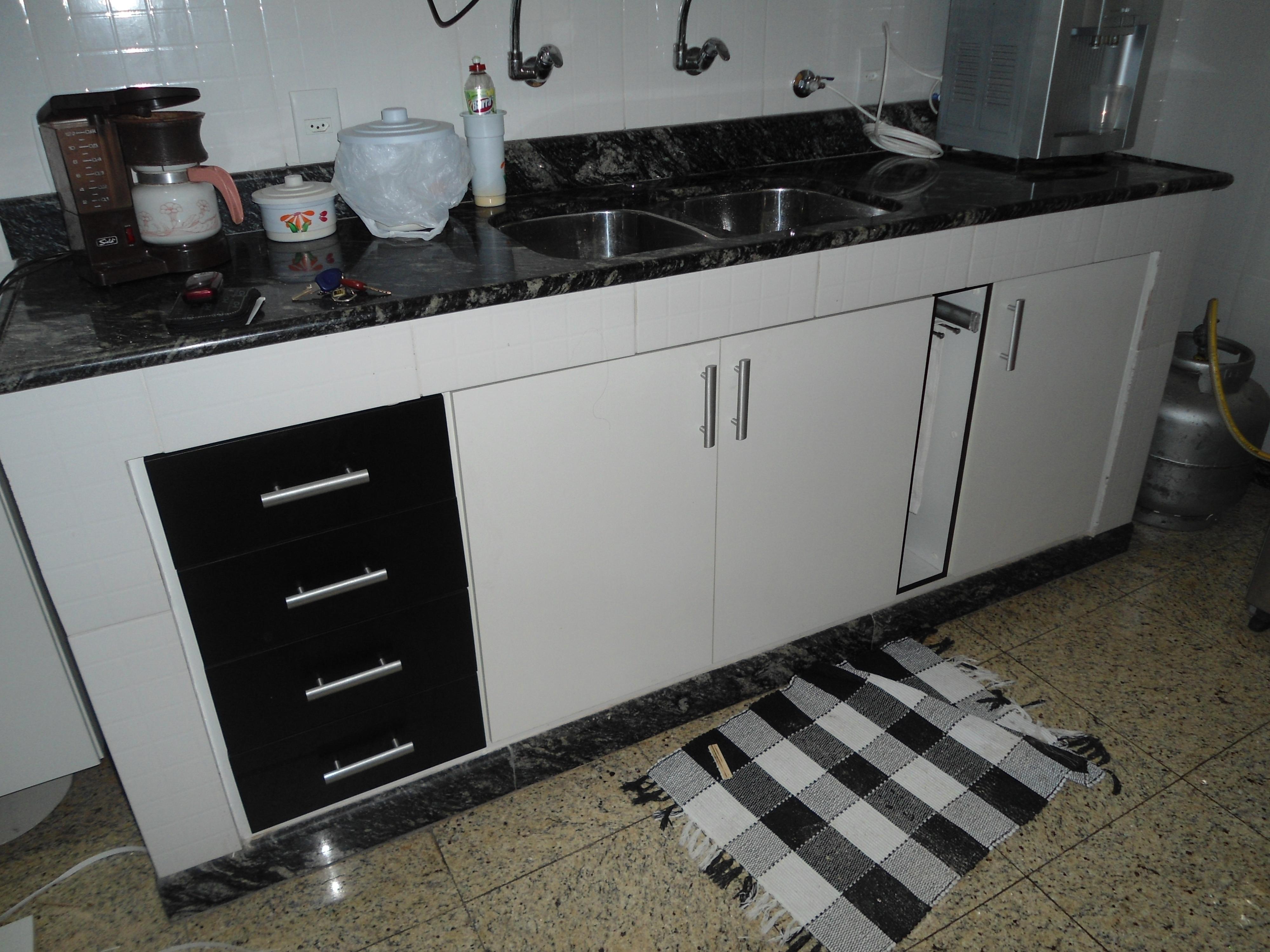 Armário de cozinha  LeandroGPmóveis  Elo7 # Armario De Cozinha Bom Negocio Rj