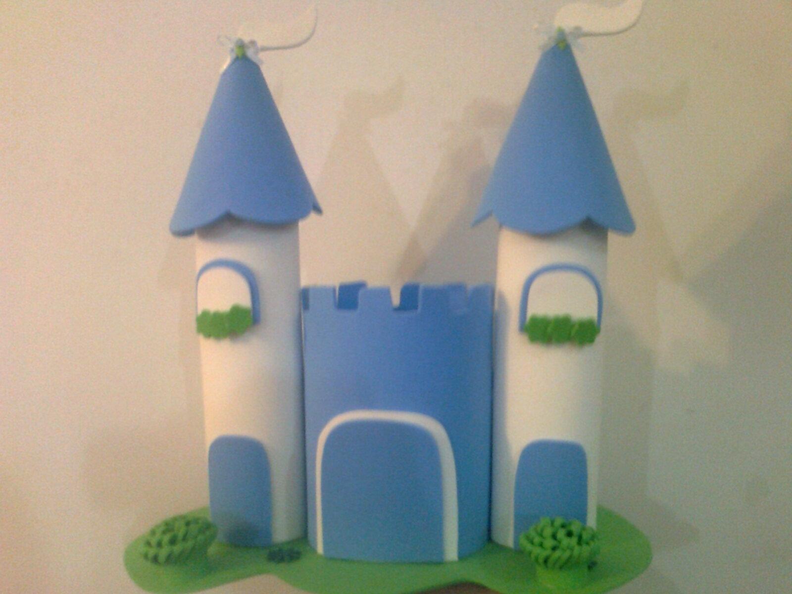 Molde Do Castelo Das Princesas Em Eva Elo7
