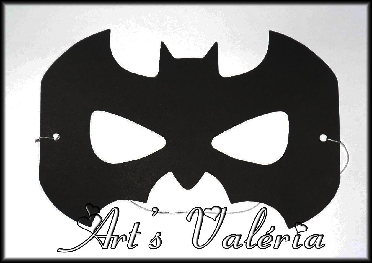 Mascara Turma Do Batman No Elo7 Arts Valeria Personalizados 3526d8