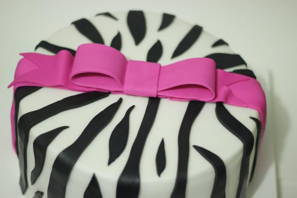 Favoritos Bolo Zebra Pink no Elo7 | Mary Cupcakes! (3545A5) RM08