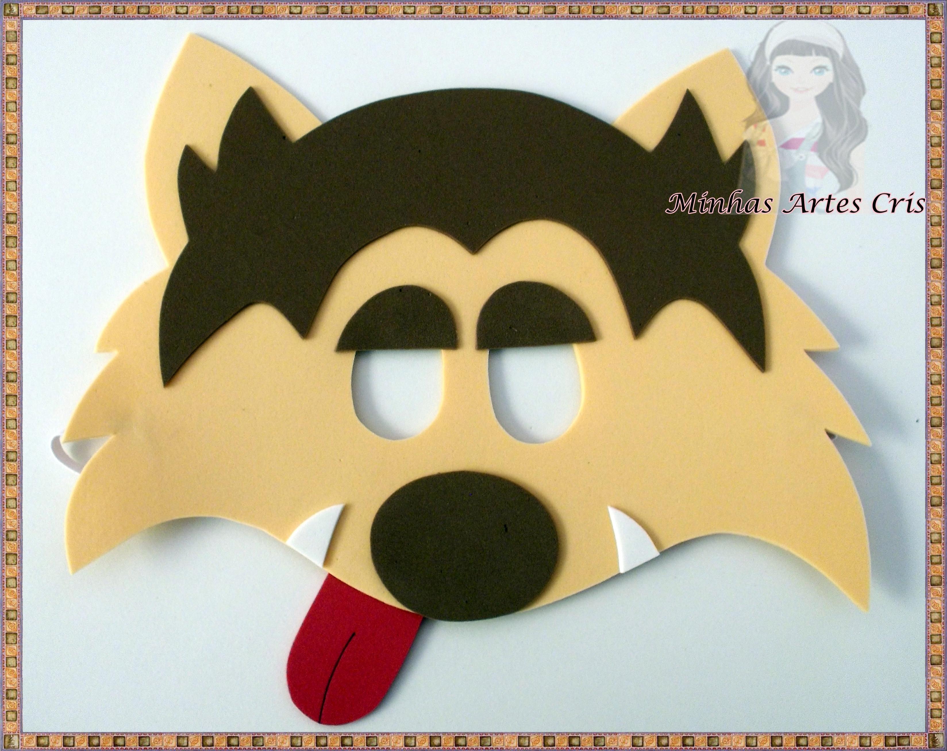Mascara De Lobo Mau Para Imprimir Imagui