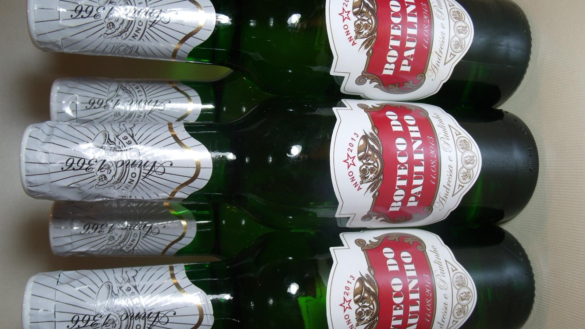 Conhecido Rótulo - Garrafa De Cerveja - Long Neck no Elo7 | Pinnkd Atelier  AR41