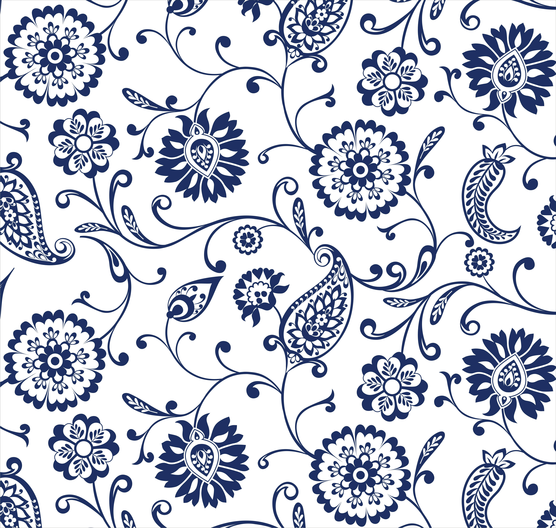 Azulejo Adesivo : AZ081 Arabesco Design Elo7 #04184F 6001 5701