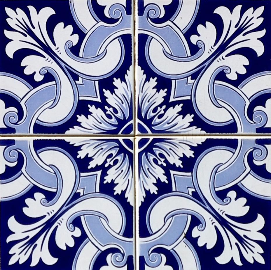 Azulejo adesivo az096 arabesco design elo7 for Adhesivo de montaje para azulejos