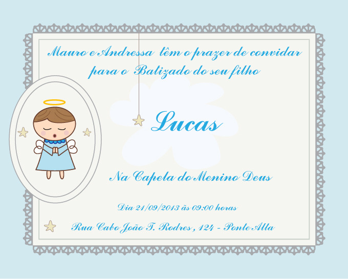 Convites Colecao De Alo Alo Docura Alodocura Elo7