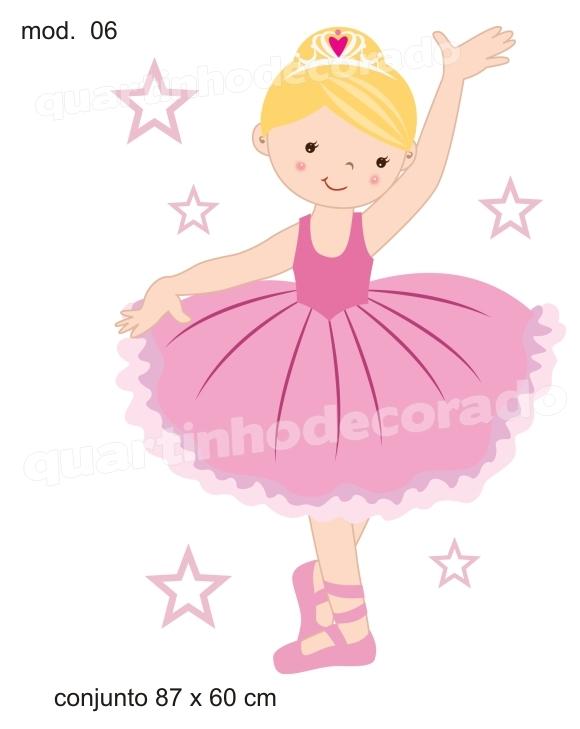 adesivo bailarina modelo 06 no elo7 quartinhodecorado 36c062