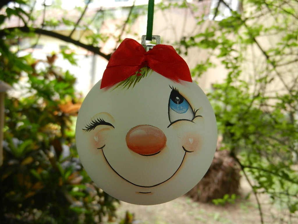 Bolas de natal confraria da arte elo7 - Como hacer bolas para decorar ...