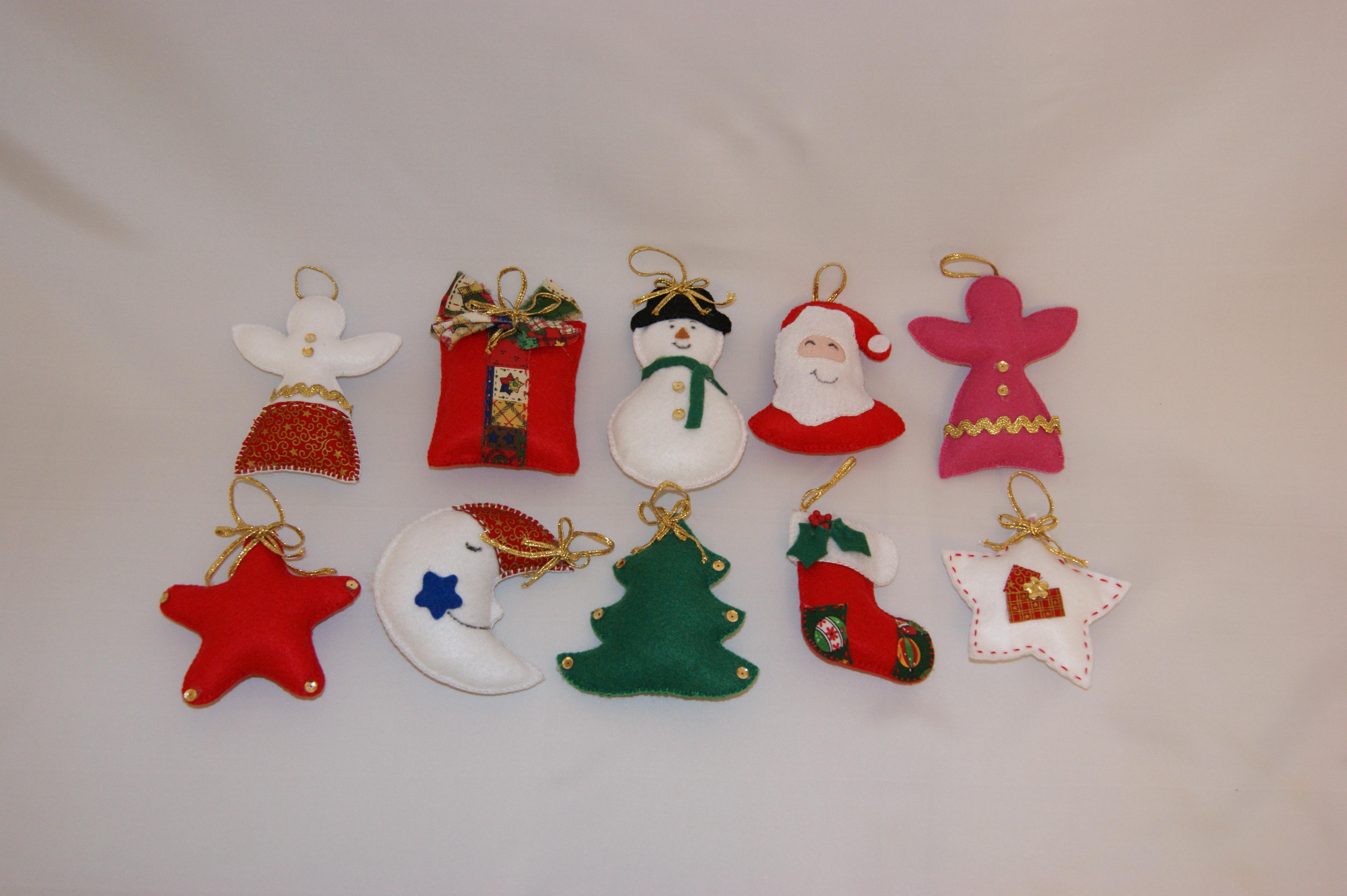 Enfeite De Natal ~ Enfeites deárvore de natal Divina Art Elo7