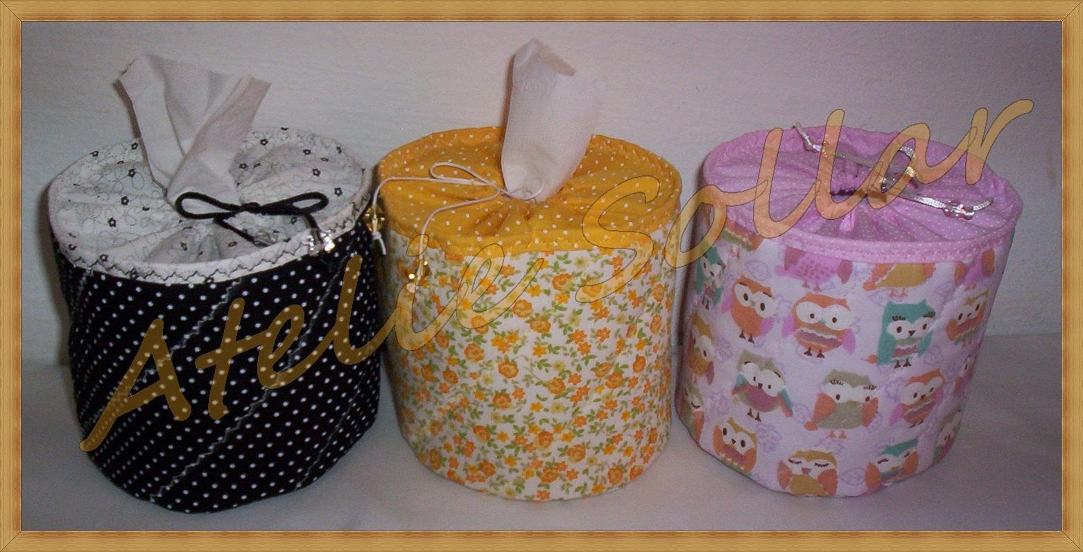 Porta papel higi nico individual atelie sollar elo7 for Colgadores para papel higienico