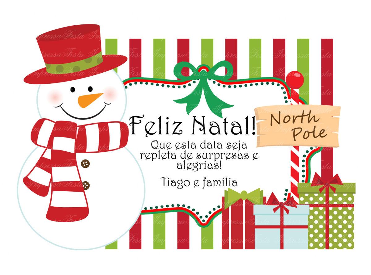 Cartão Especial Natal No Elo7 Festa Impressa 385c50