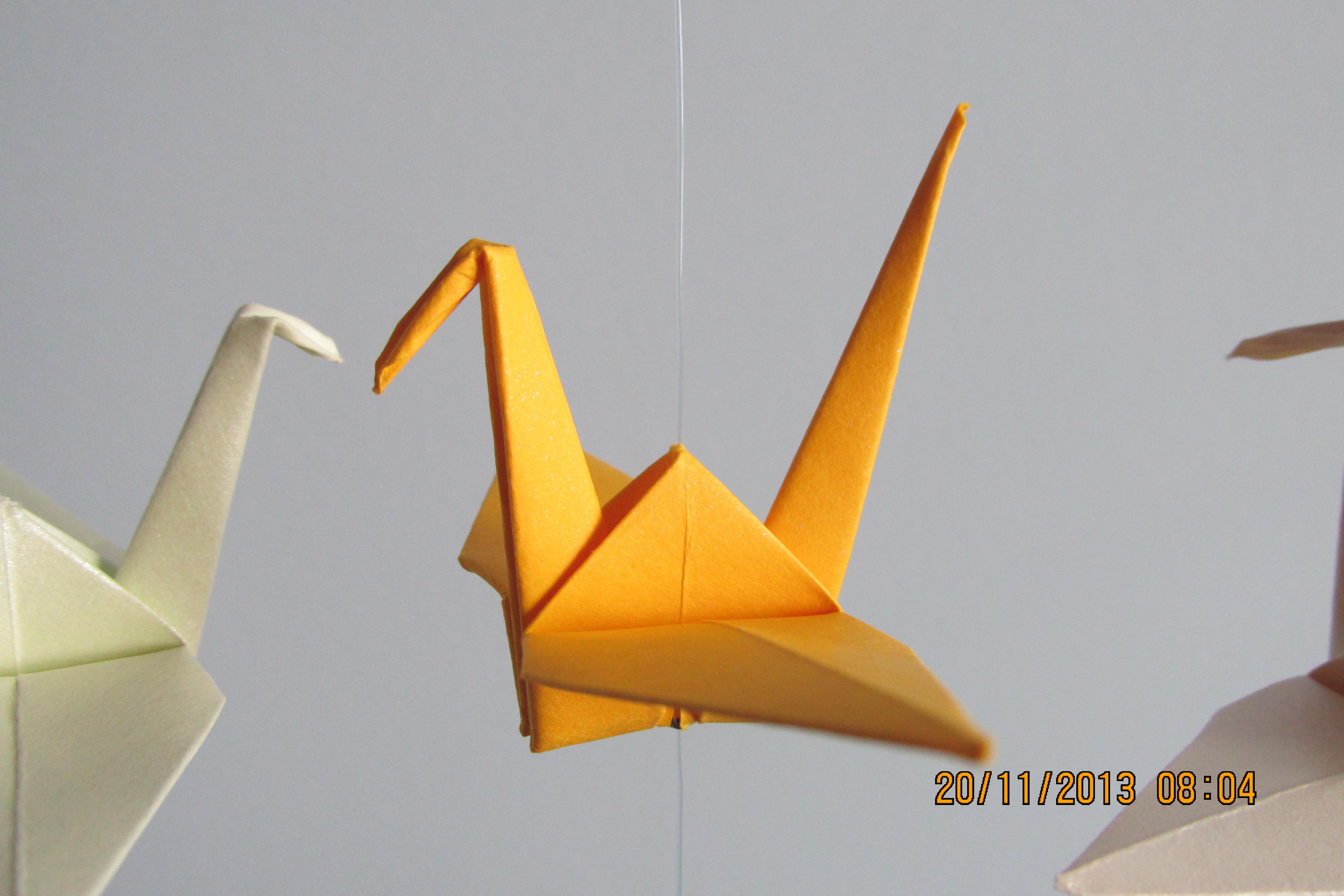 Tsuru em origami fantasy atelier elo7 - Origami para todos ...